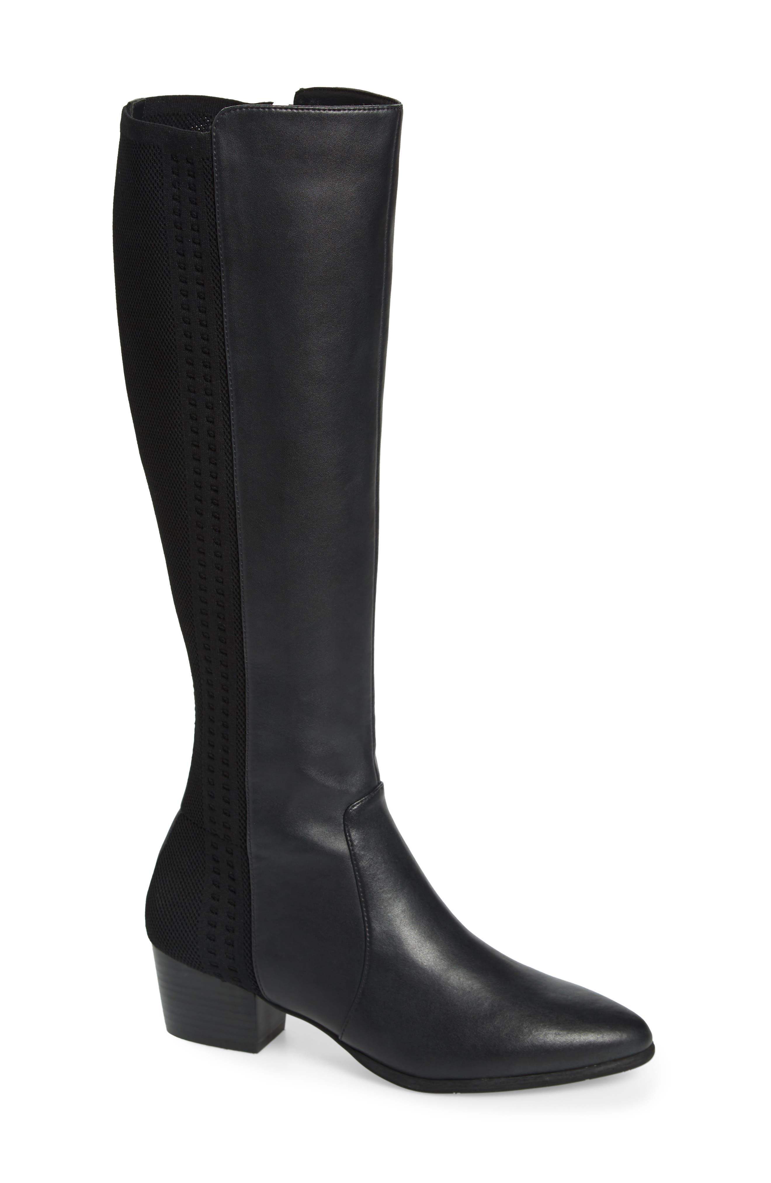 Nic + Zoe Windsor Knee High Boot- Black