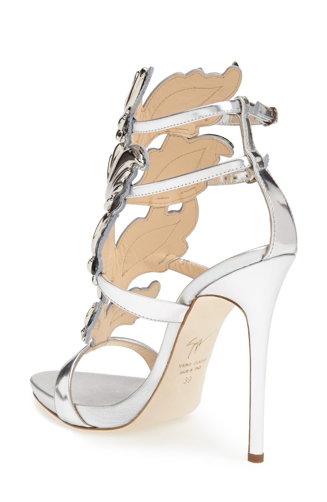 'Coline' Winged Sandal,                             Alternate thumbnail 3, color,
