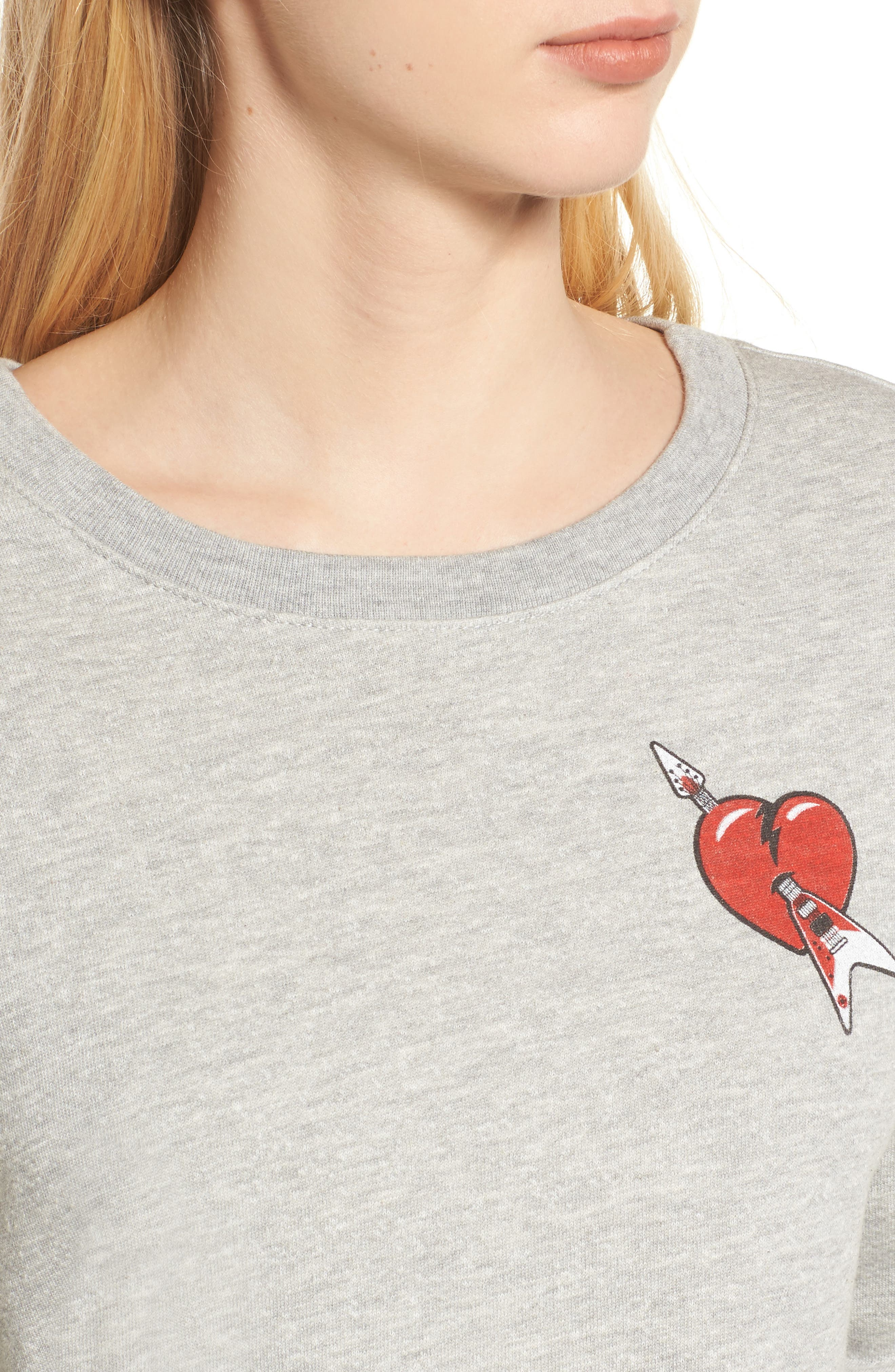 Tom Petty and the Heartbreakers Sweatshirt,                             Alternate thumbnail 4, color,                             020