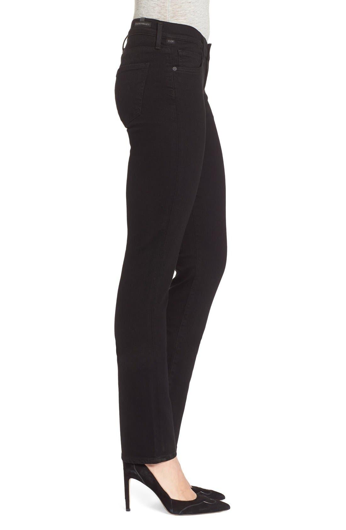 'Ava' Straight Leg Jeans,                             Alternate thumbnail 4, color,                             003