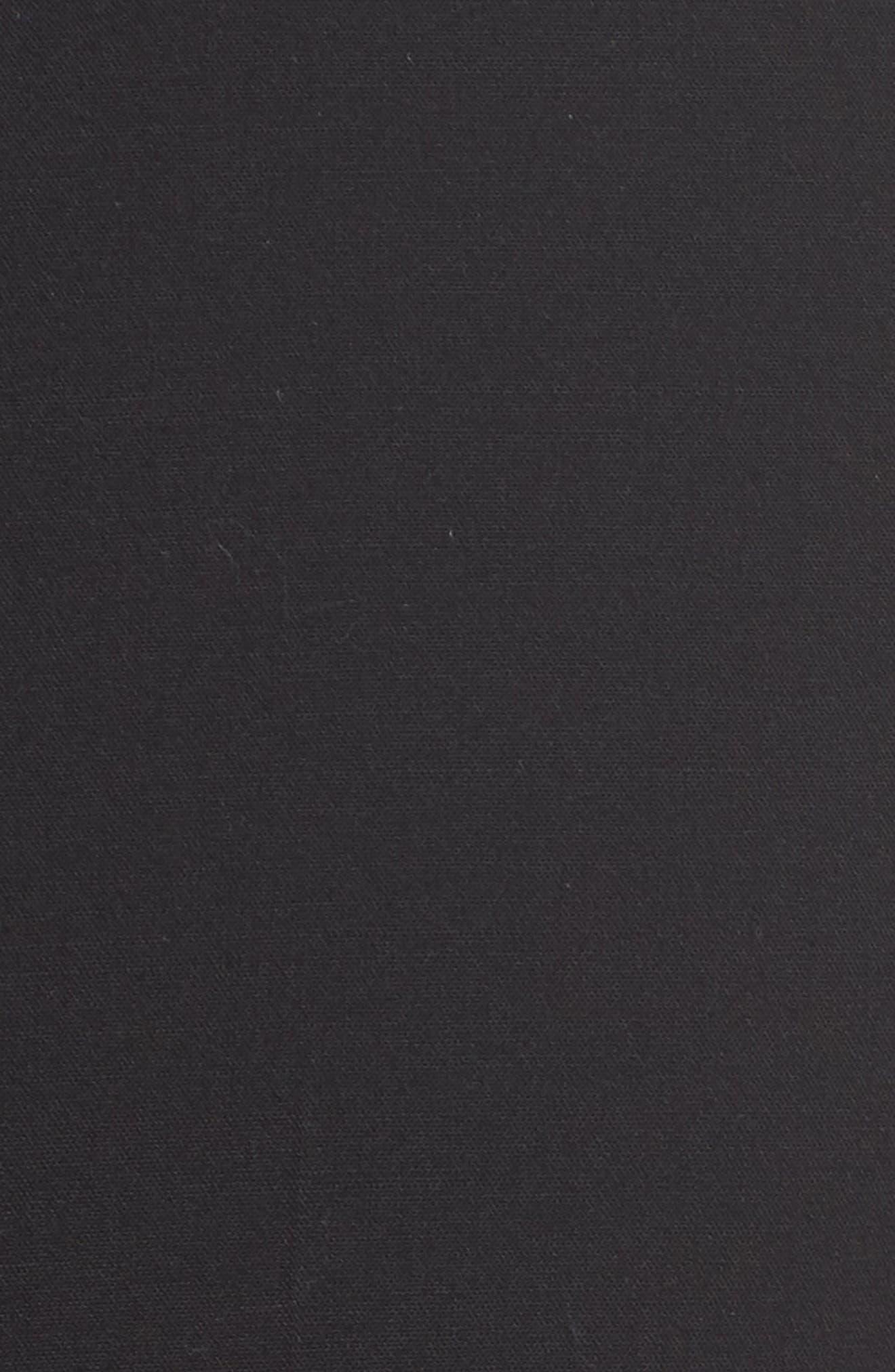Menswear Trousers,                             Alternate thumbnail 7, color,                             BLACK