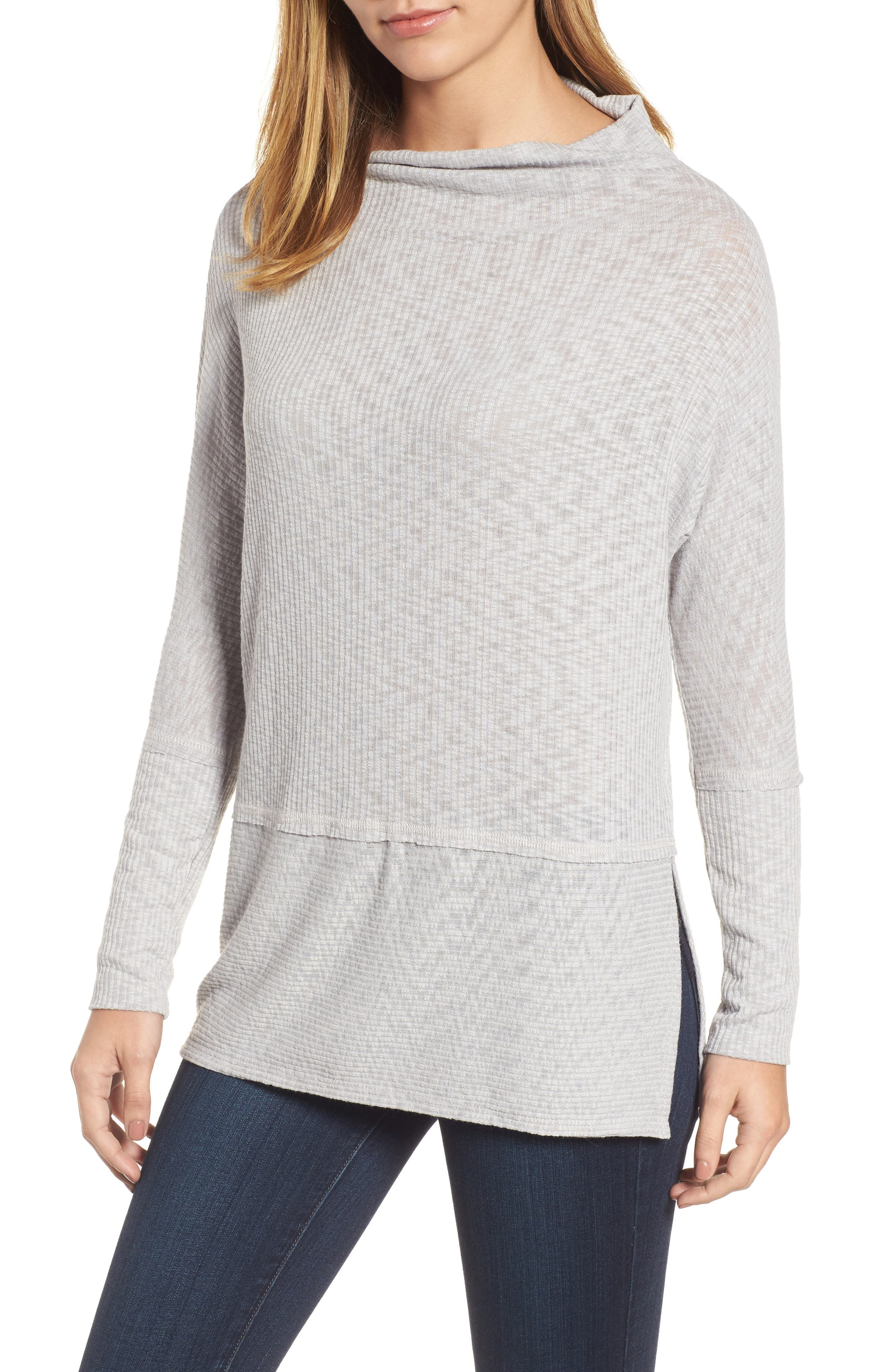 Convertible Wide Neck Top,                             Main thumbnail 2, color,