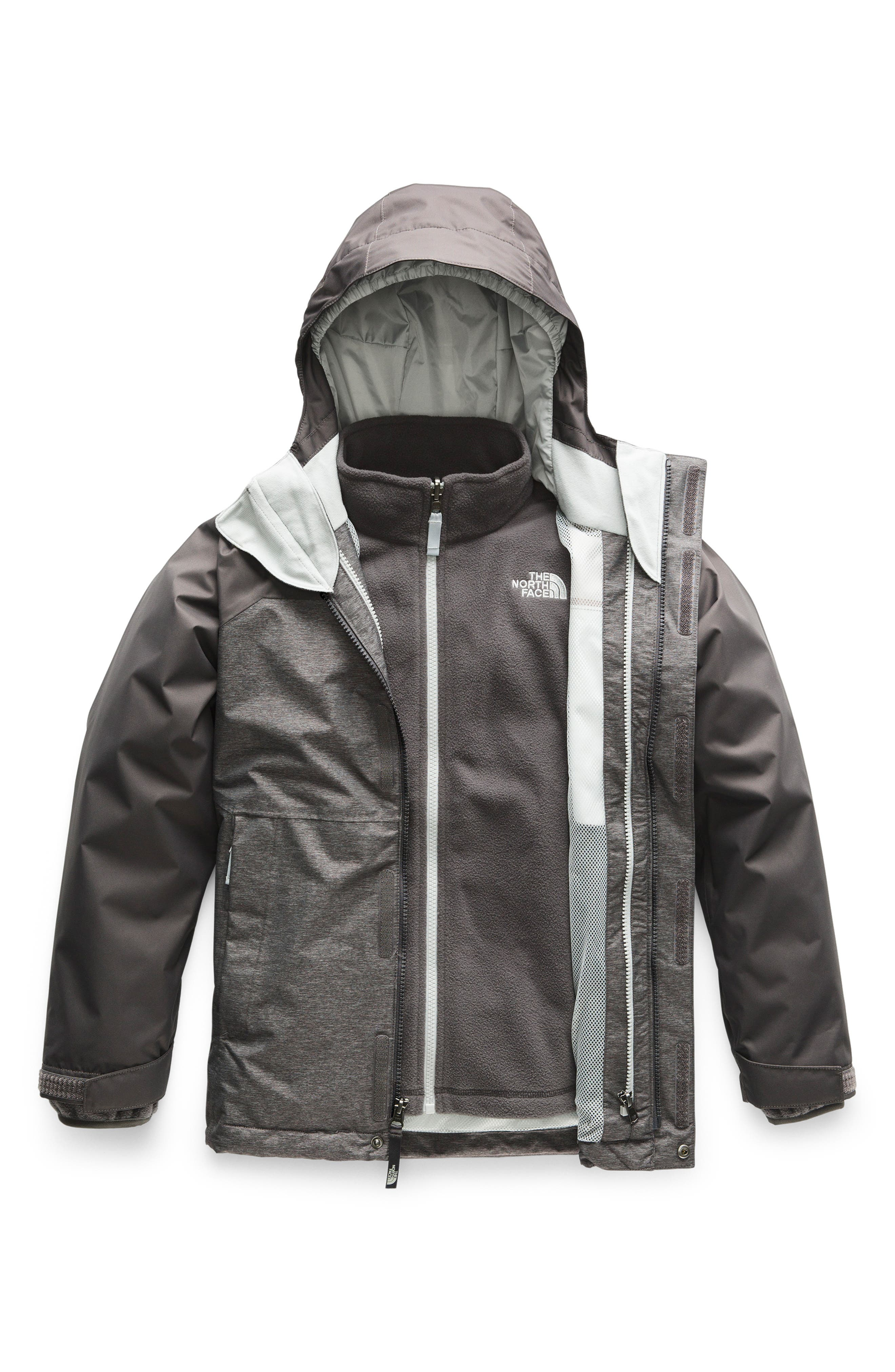 Vortex TriClimate<sup>®</sup> 3-in-1 Jacket,                             Main thumbnail 1, color,                             TNF MEDIUM GREY HEATHER