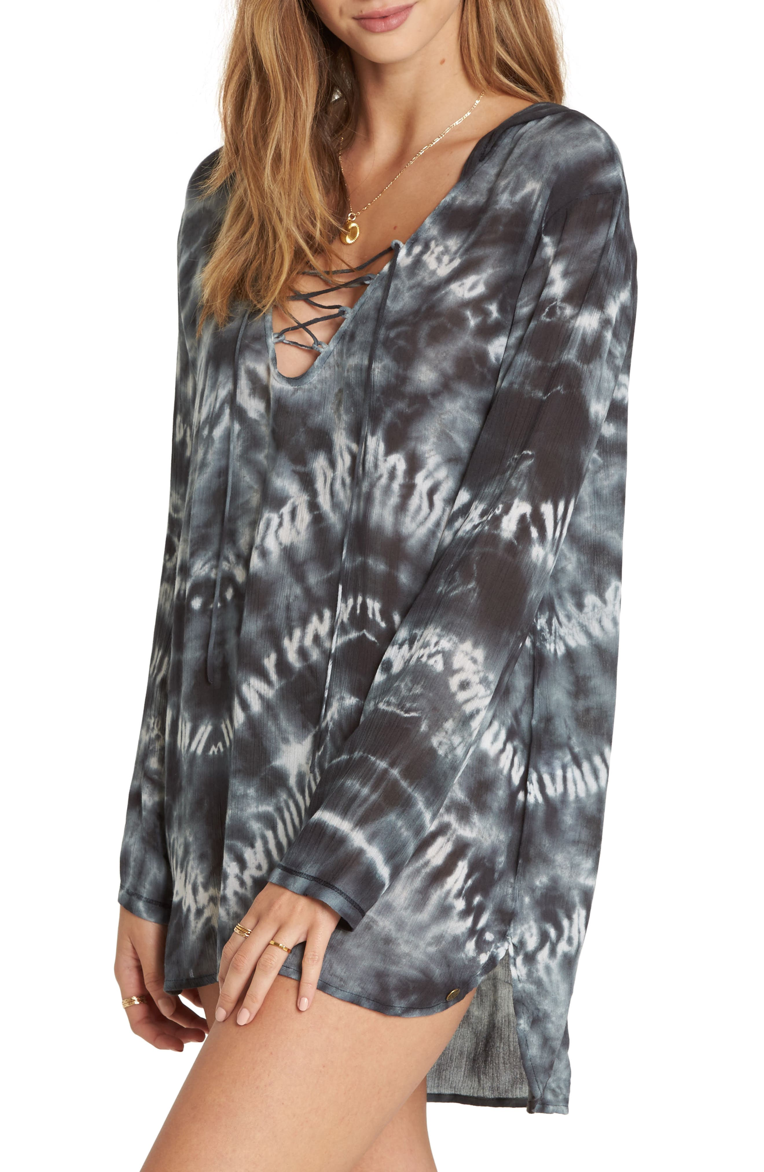 Same Story Cover-Up Tunic,                             Alternate thumbnail 3, color,                             002