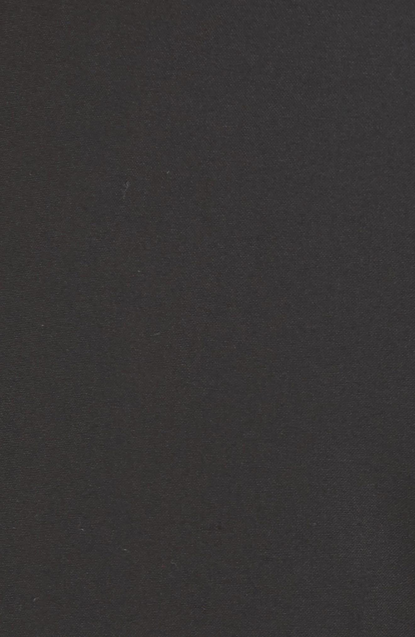 Demitria Flare Leg Good Wool Suit Pants,                             Alternate thumbnail 5, color,                             001