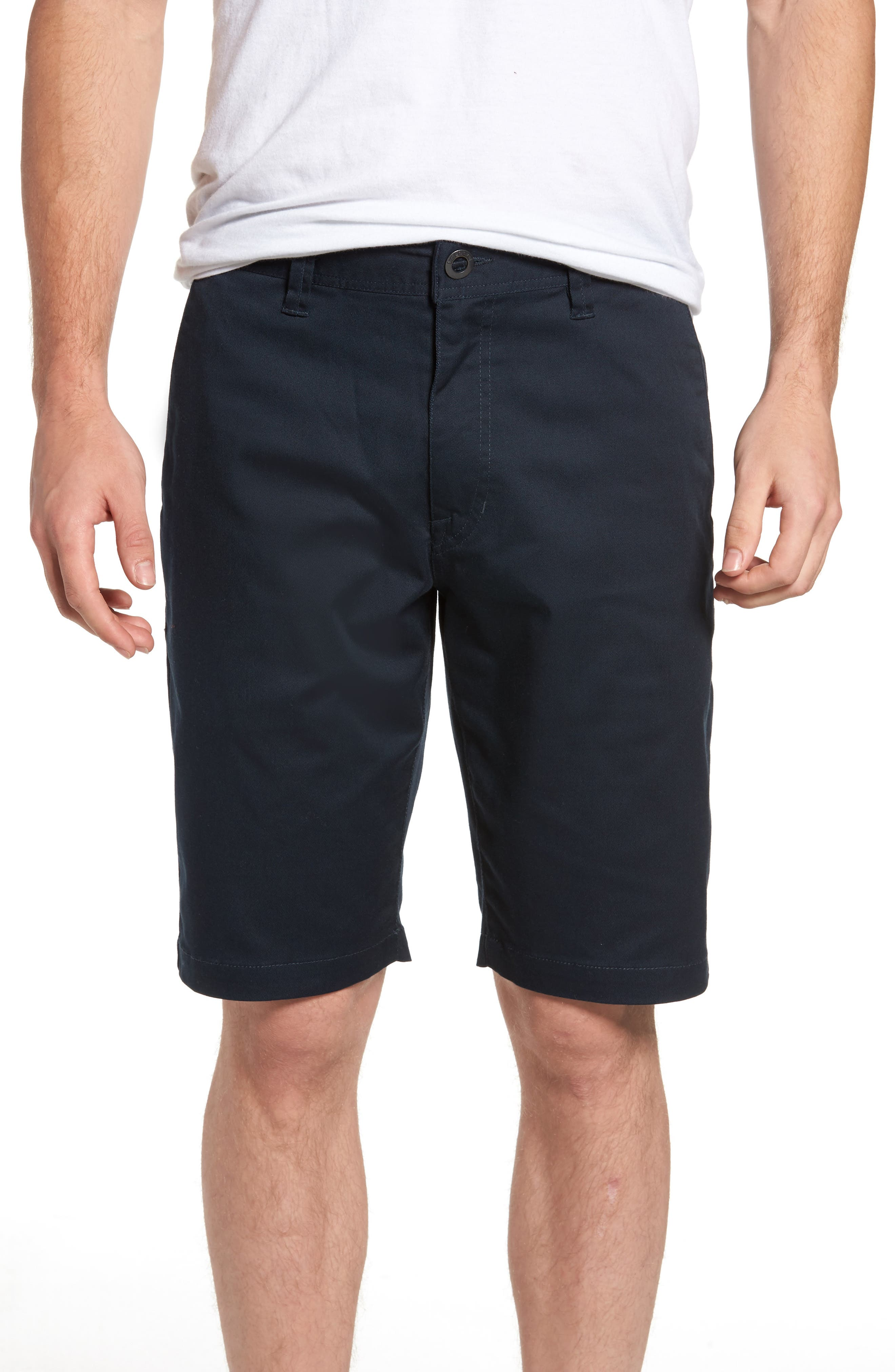 'Modern' Stretch Chino Shorts,                             Main thumbnail 10, color,