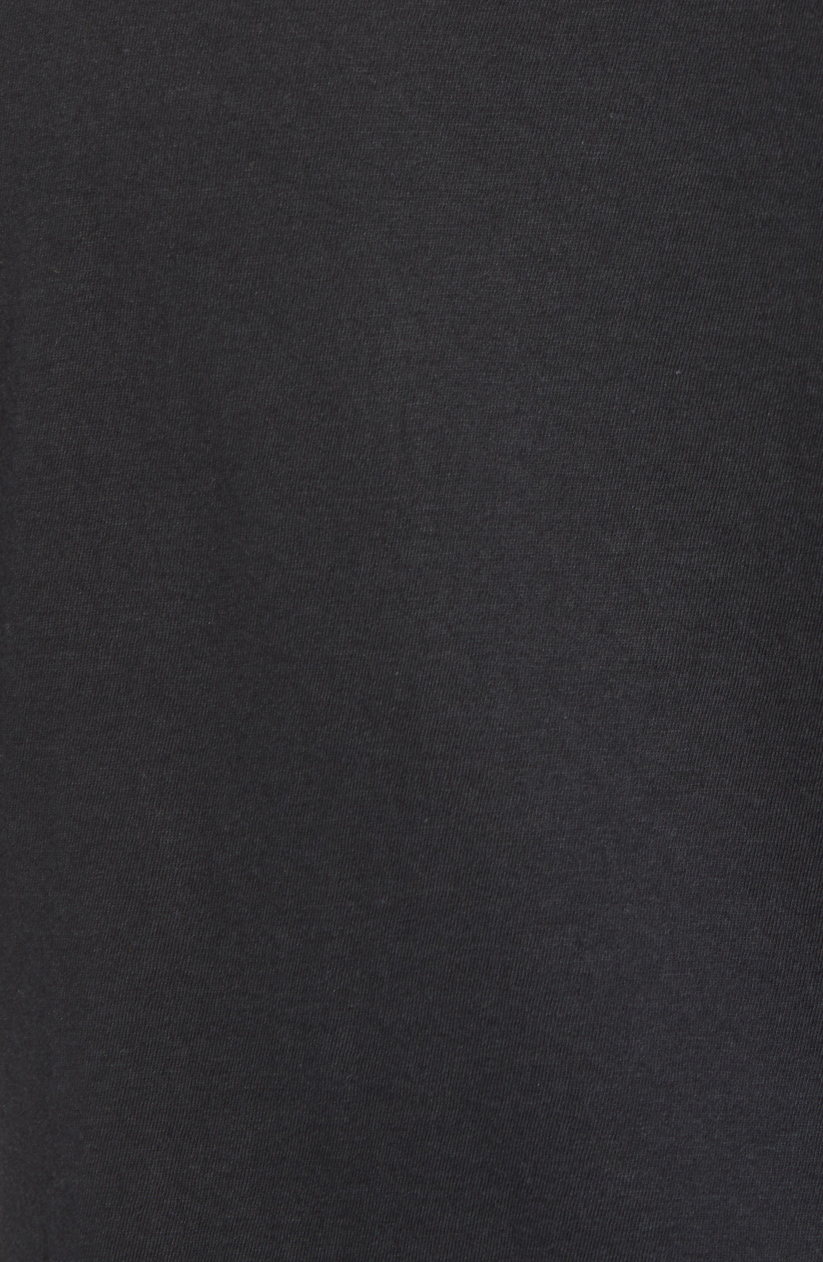 Tri-Splice T-Shirt,                             Alternate thumbnail 5, color,                             BLACK NAVY SKI SPLICE