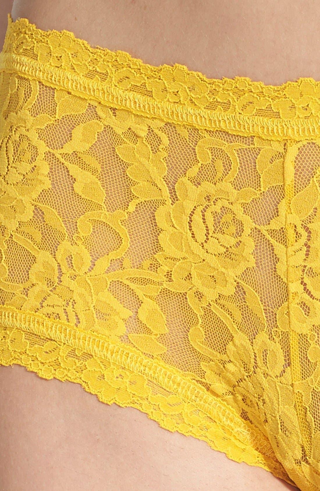 'Signature Lace' Boyshorts,                             Alternate thumbnail 250, color,