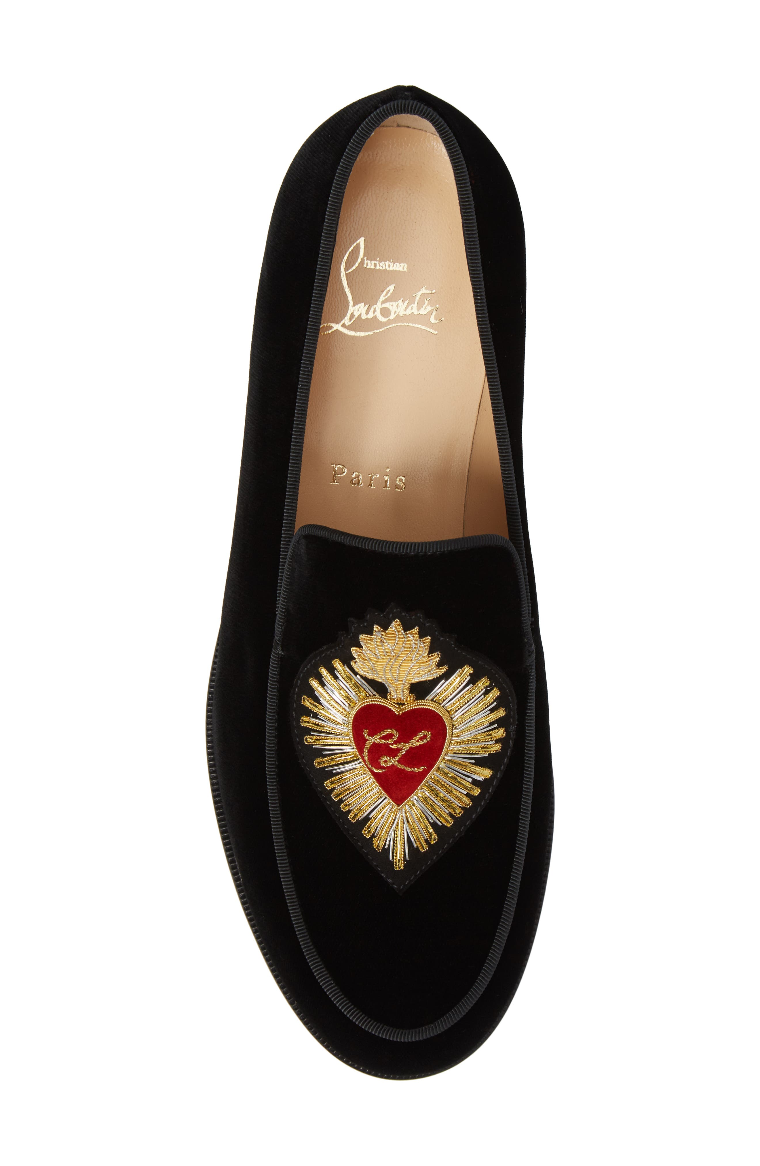 Perou Corazon Loafer,                             Alternate thumbnail 6, color,                             001