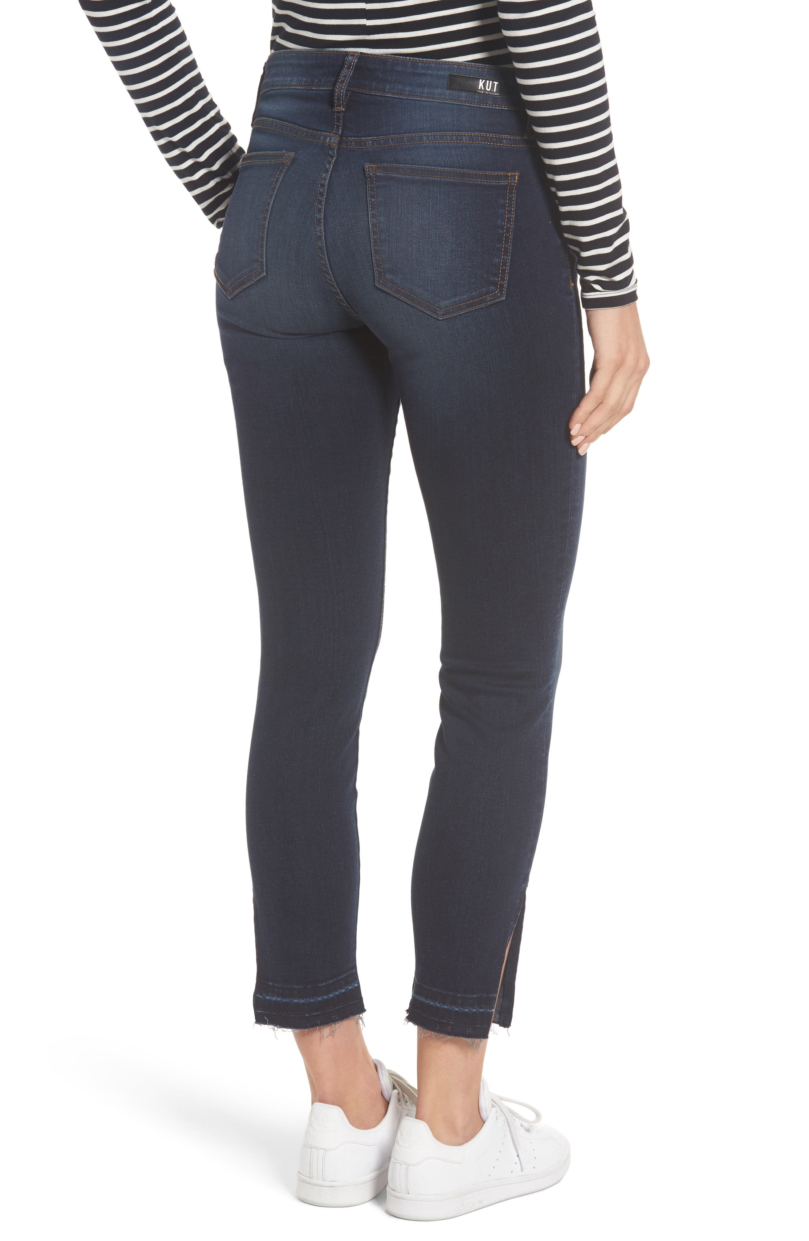 Connie Release Hem Ankle Skinny Jeans,                             Alternate thumbnail 2, color,                             431