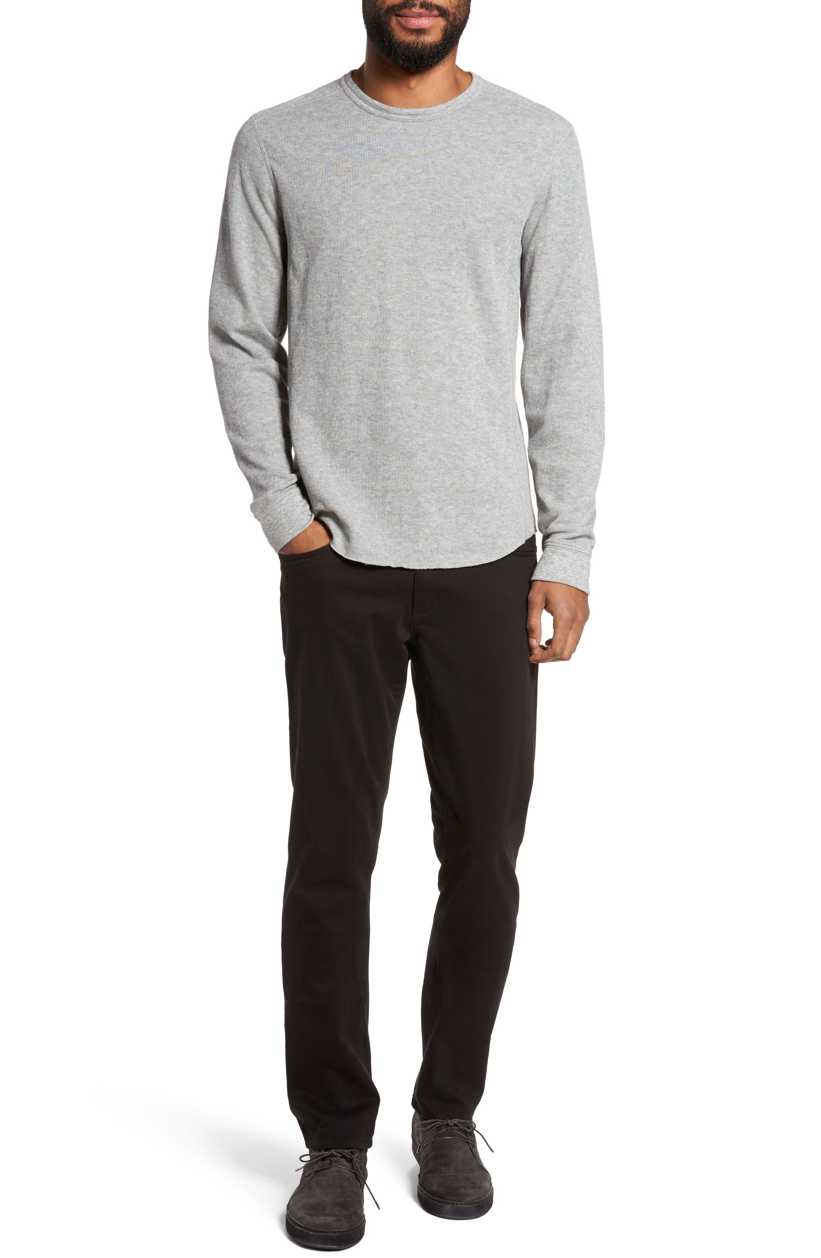 Double Knit Long Sleeve T-Shirt,                             Alternate thumbnail 32, color,