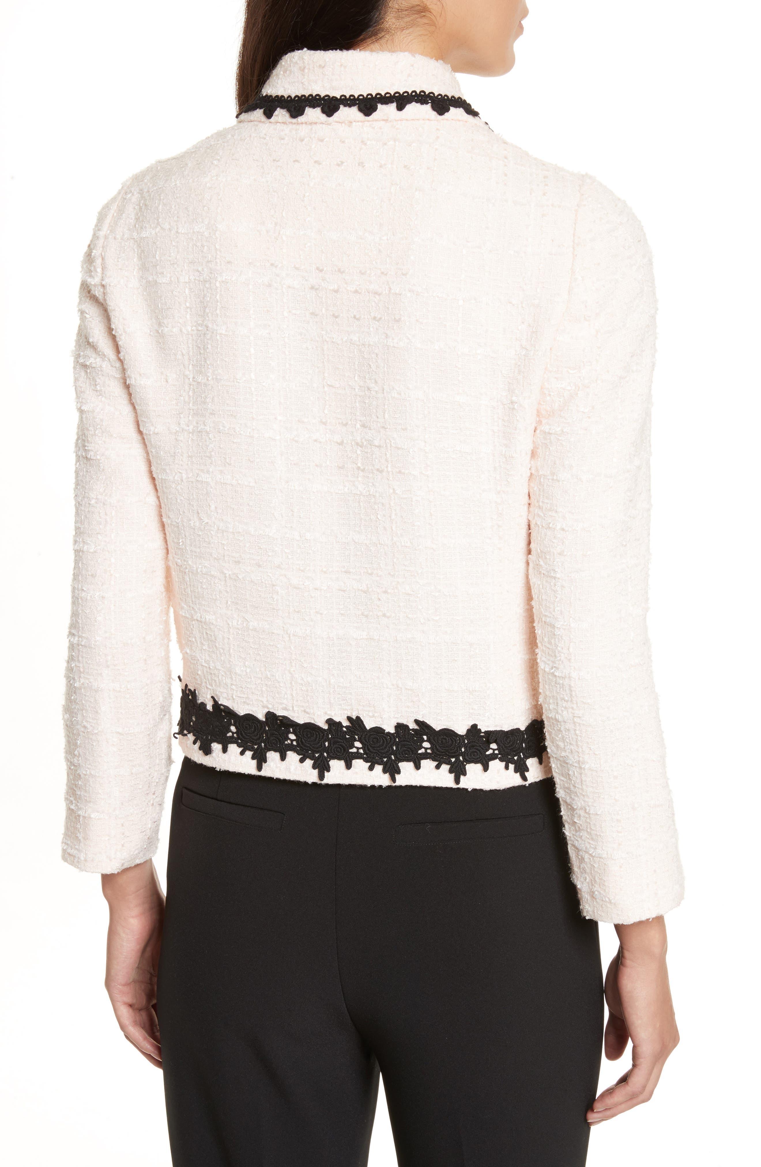 reagan embellished bouclé jacket,                             Alternate thumbnail 2, color,                             672
