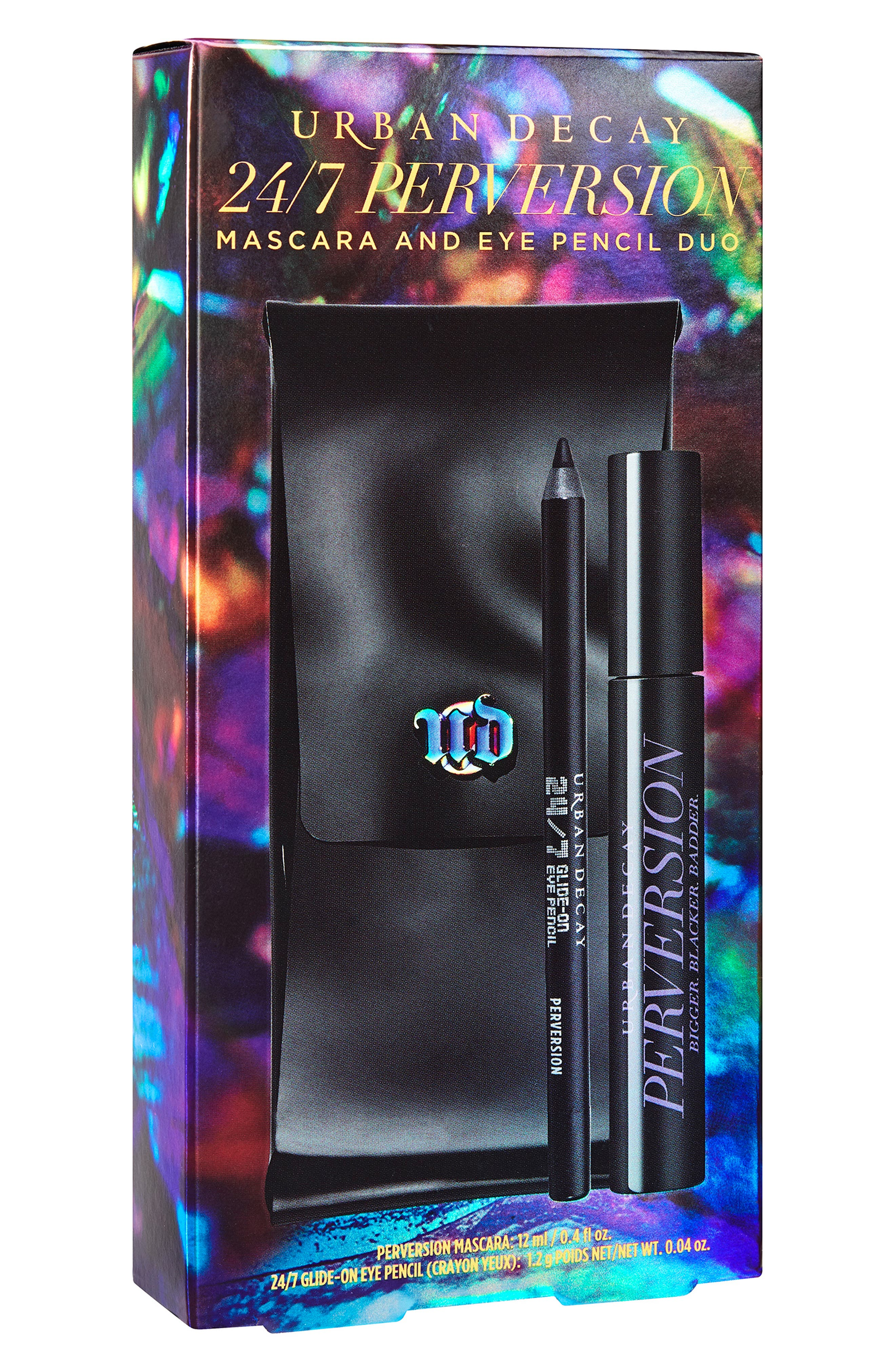 24/7 Perversion Pencil & Mascara Set,                             Main thumbnail 1, color,                             NO COLOR