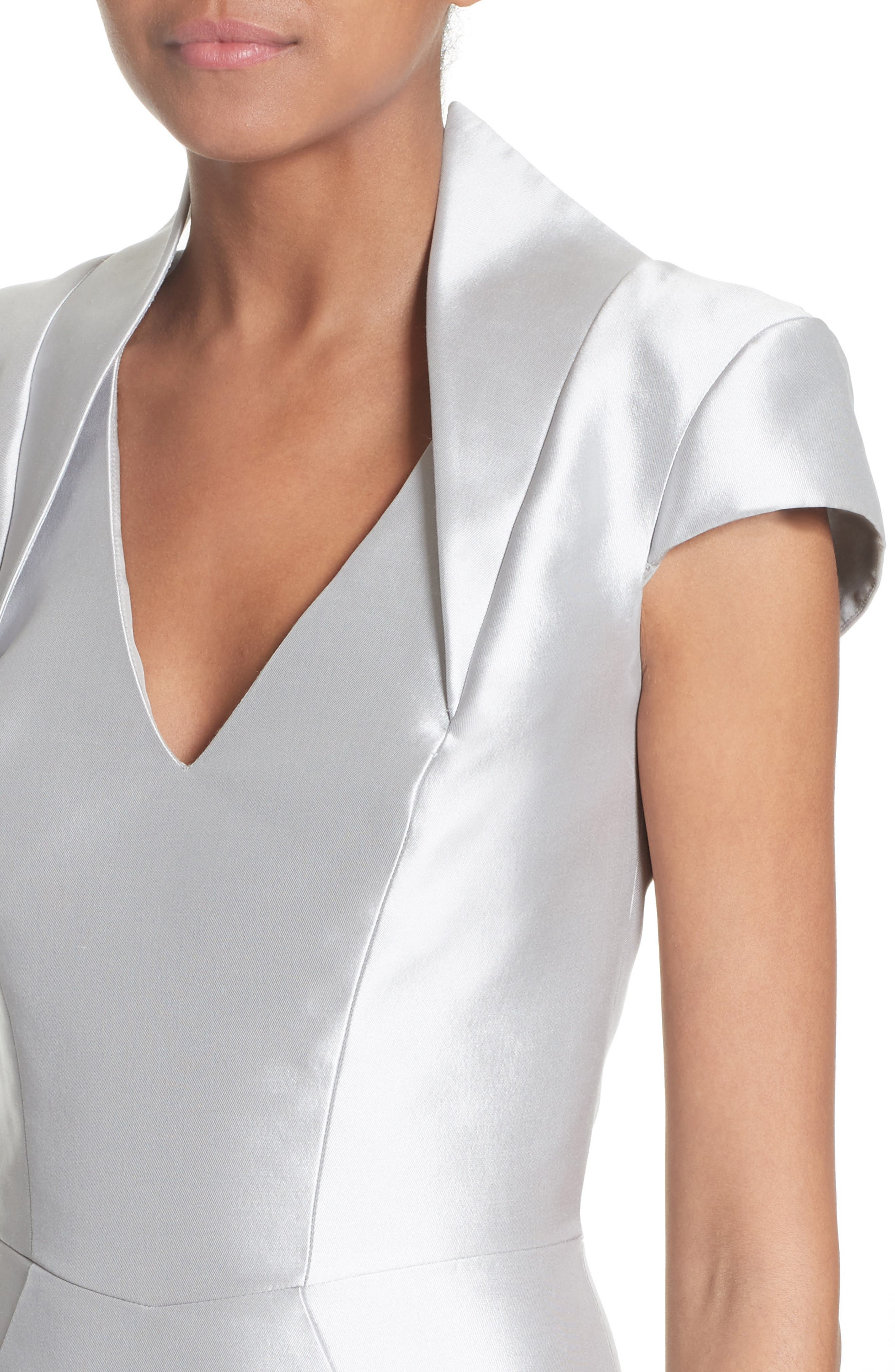 Cap Sleeve Sheath Dress,                             Alternate thumbnail 4, color,                             040