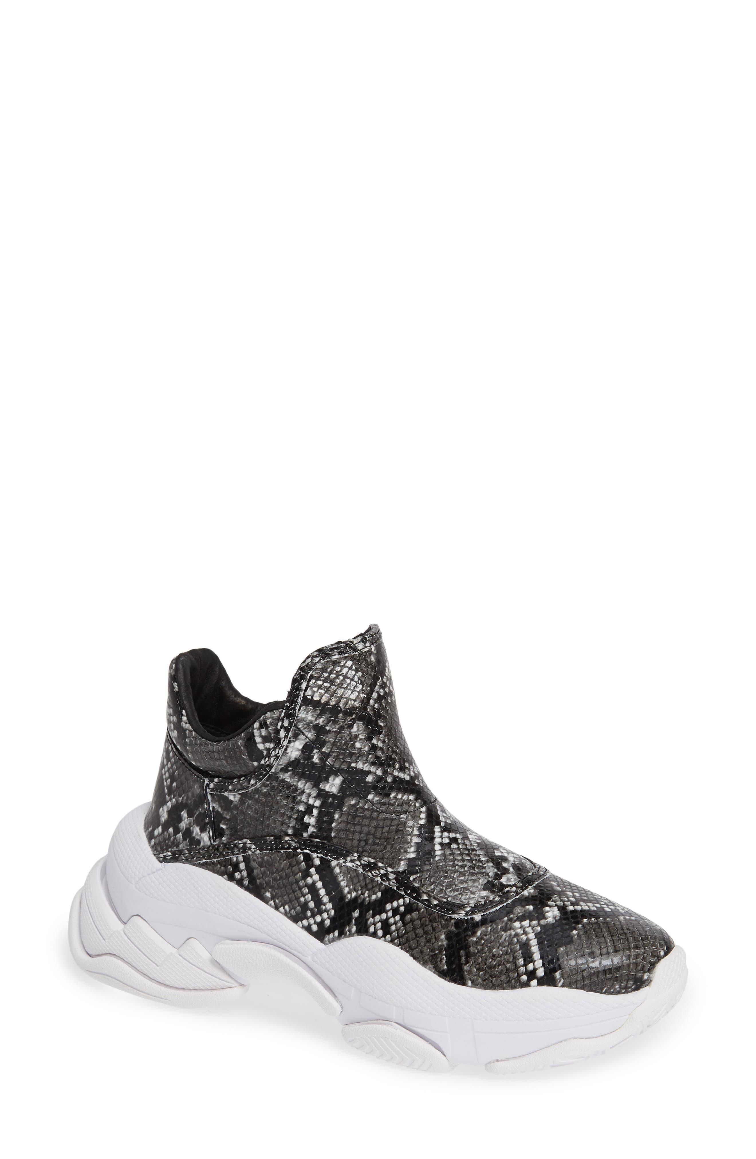 CTRL-DEL Sneaker,                         Main,                         color, GREY BLACK SNAKE