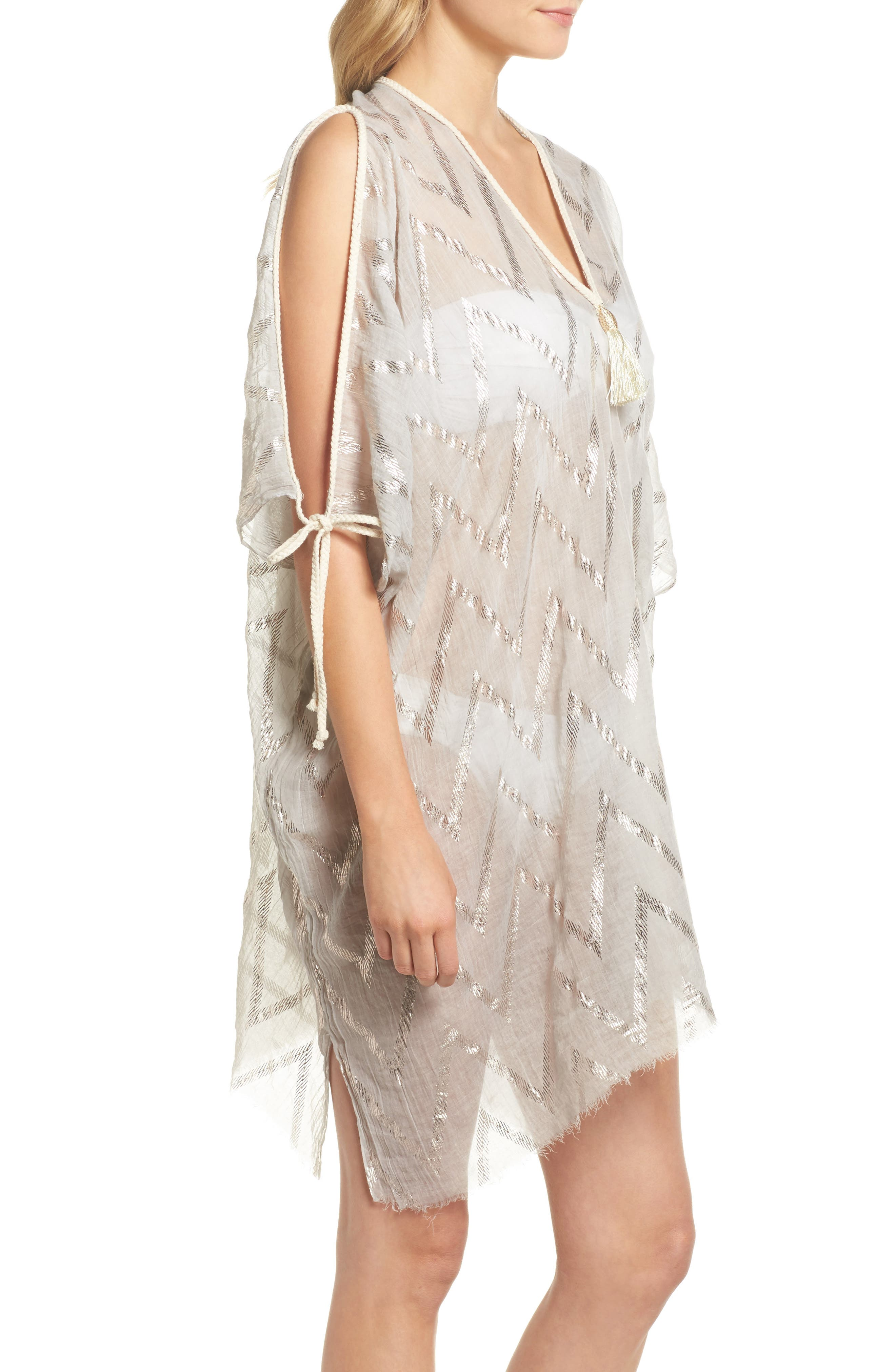 Caftan Cover-Up,                             Alternate thumbnail 3, color,                             280