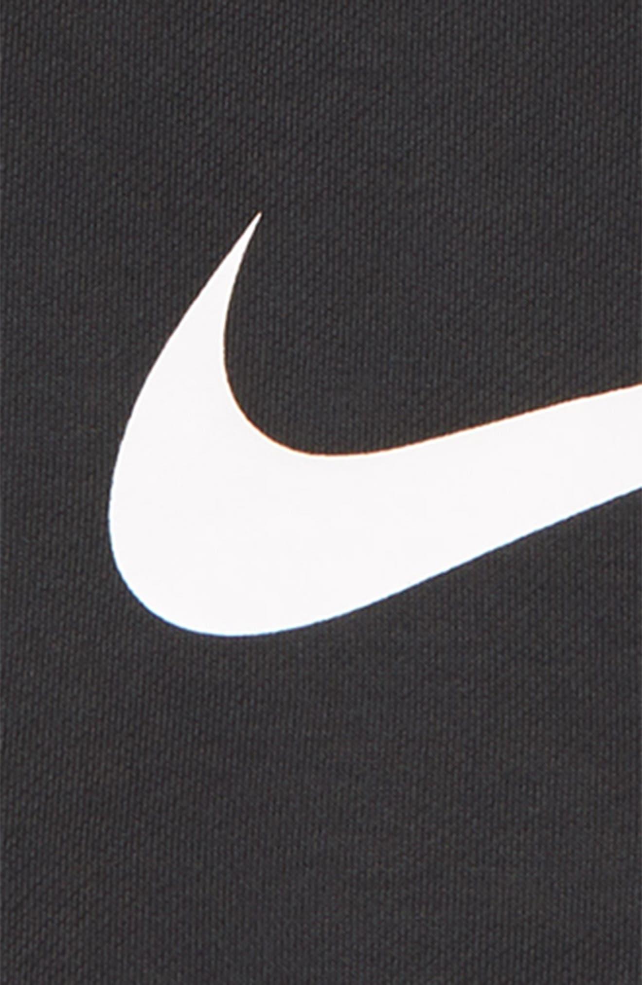 Dry Quarter Zip Pullover,                             Alternate thumbnail 2, color,                             ANTHRACITE/ WHITE