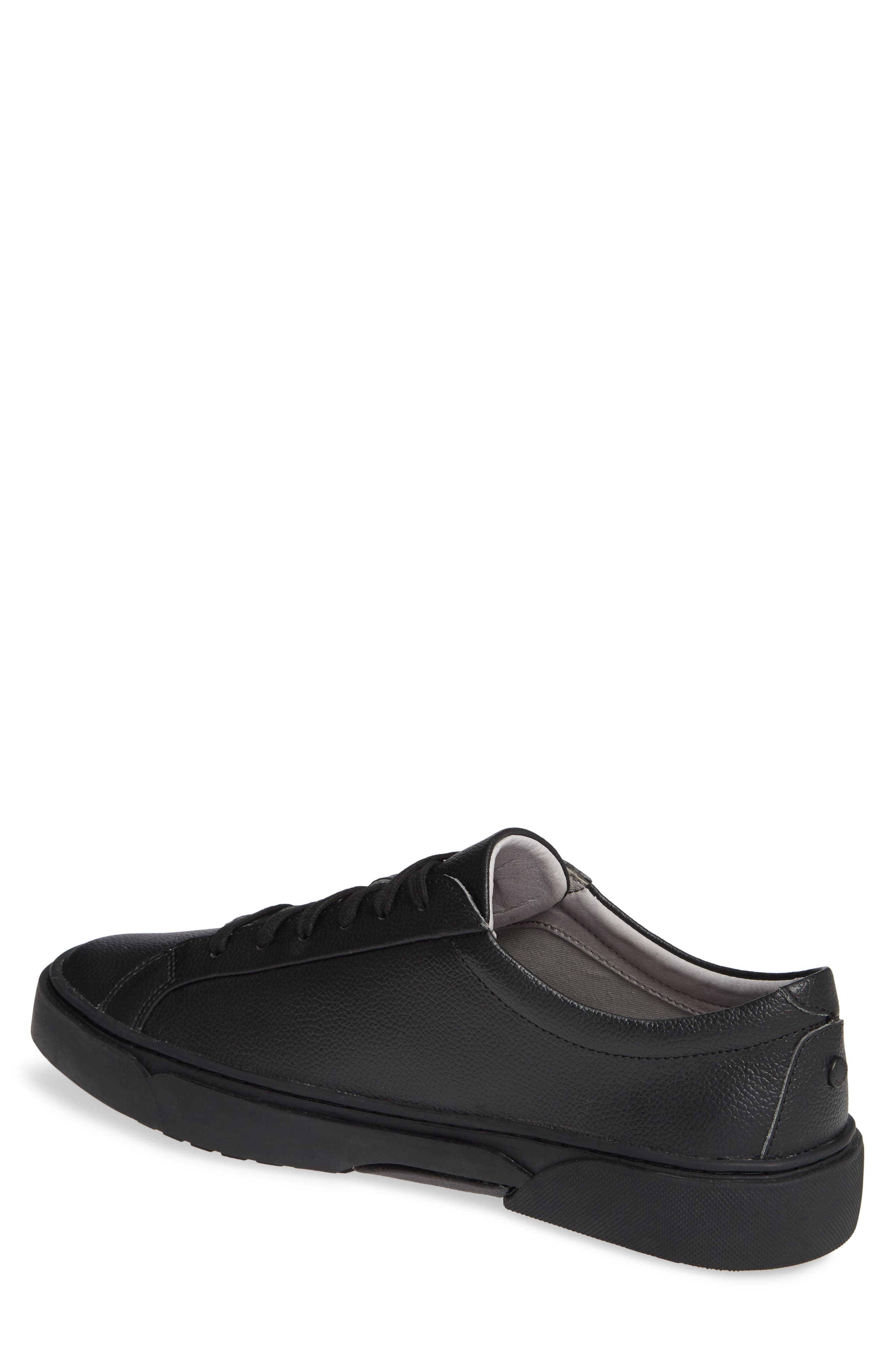 Ken Sneaker,                             Alternate thumbnail 2, color,                             TRIPLE BLACK LEATHER
