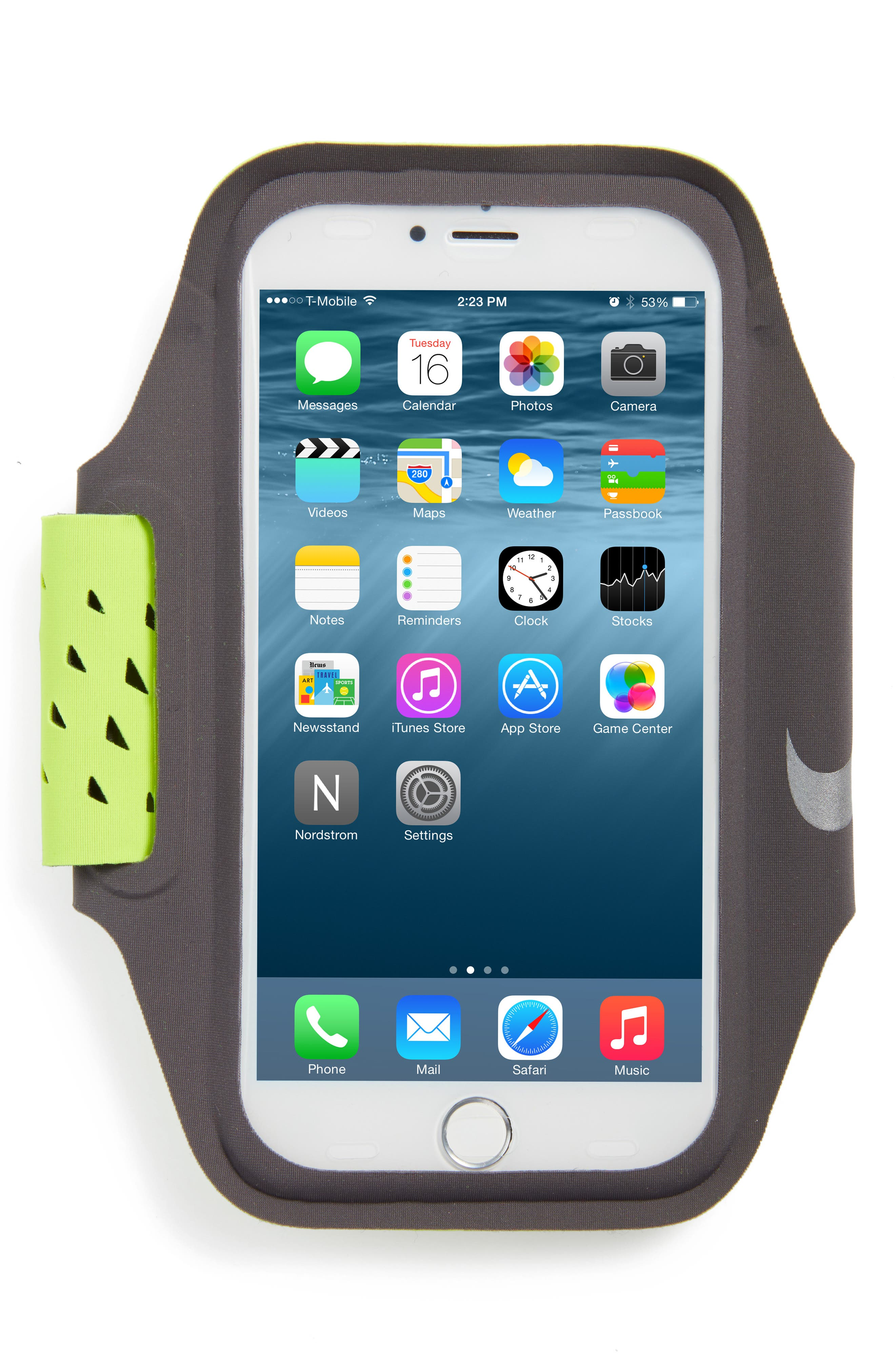 Ventilated Smartphone Arm Band,                             Main thumbnail 1, color,                             700