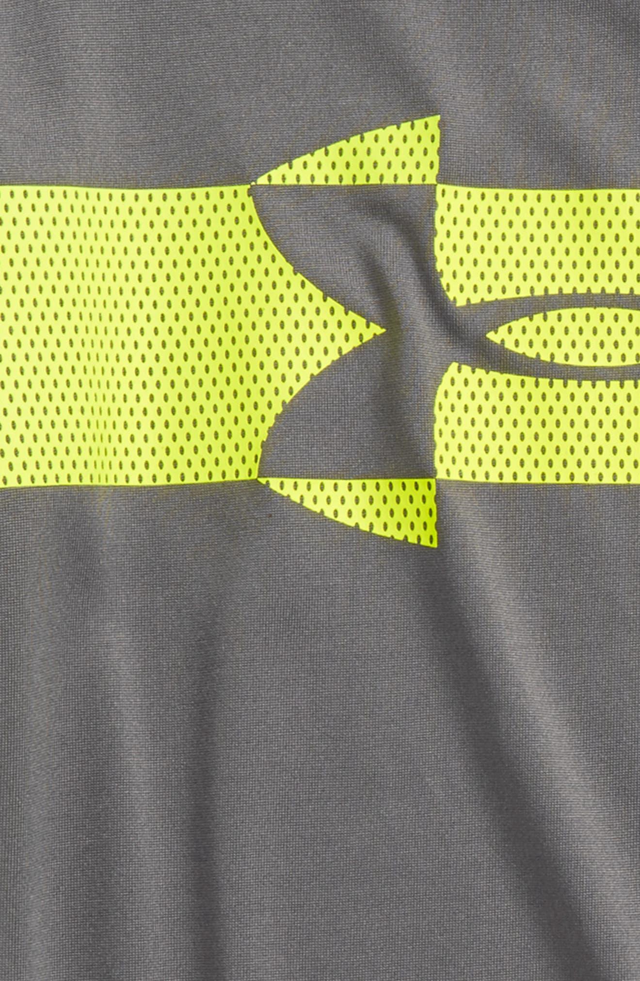 Mesh Logo HeatGear<sup>®</sup> T-Shirt,                             Alternate thumbnail 2, color,                             020