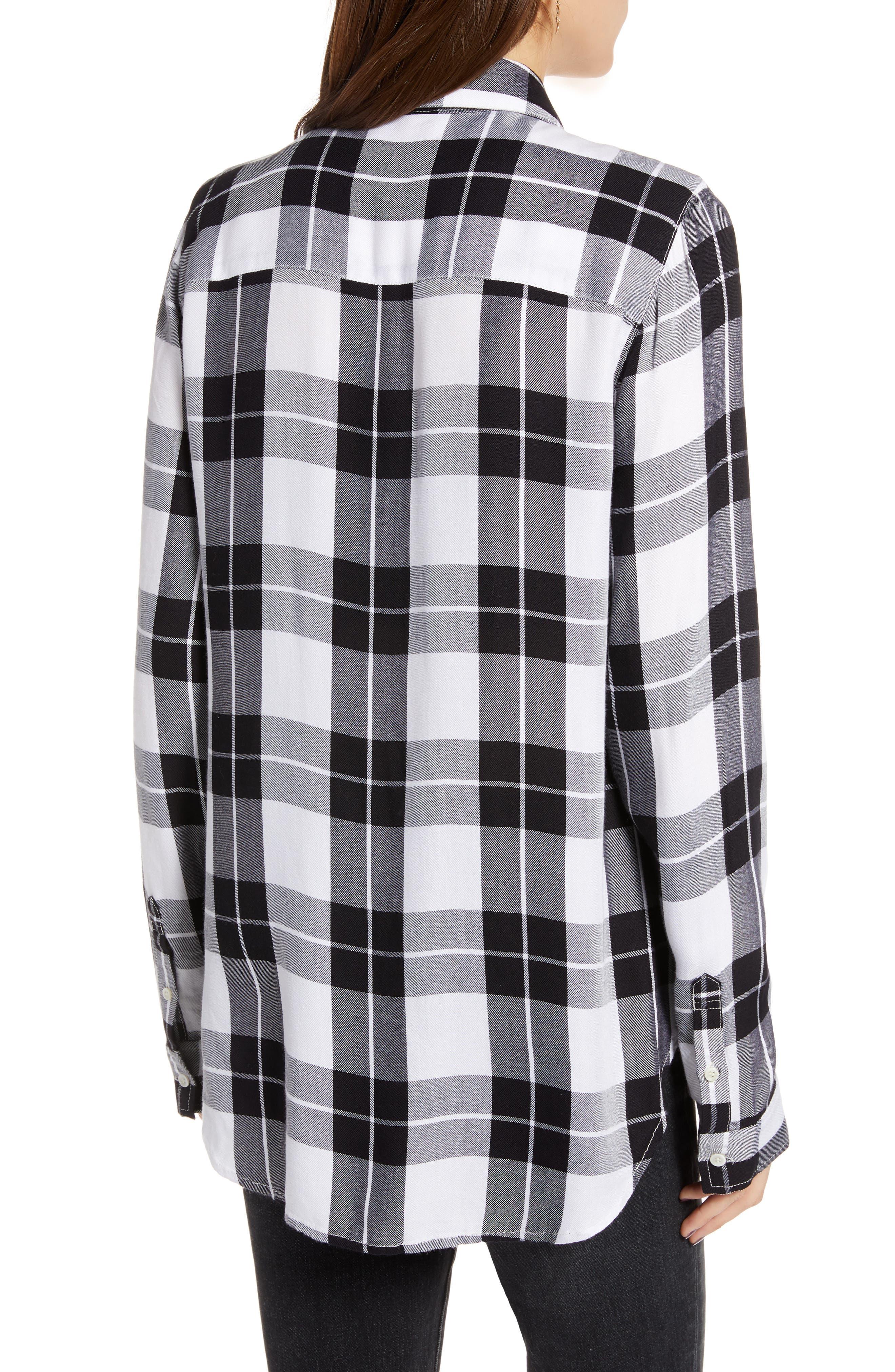 Classic Plaid Shirt,                             Alternate thumbnail 2, color,                             001