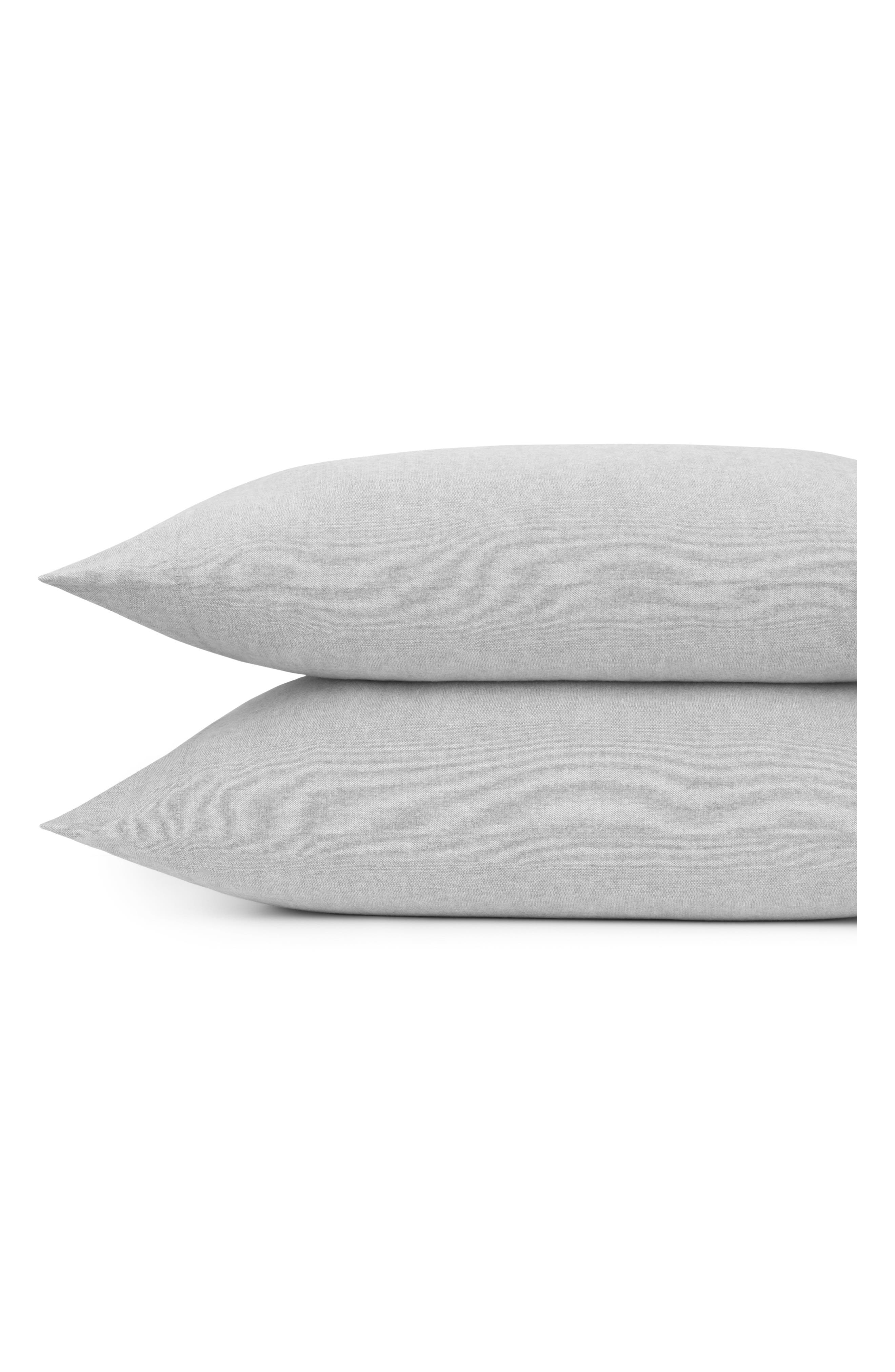 Flannel Luxe Pillowcases,                         Main,                         color, 060