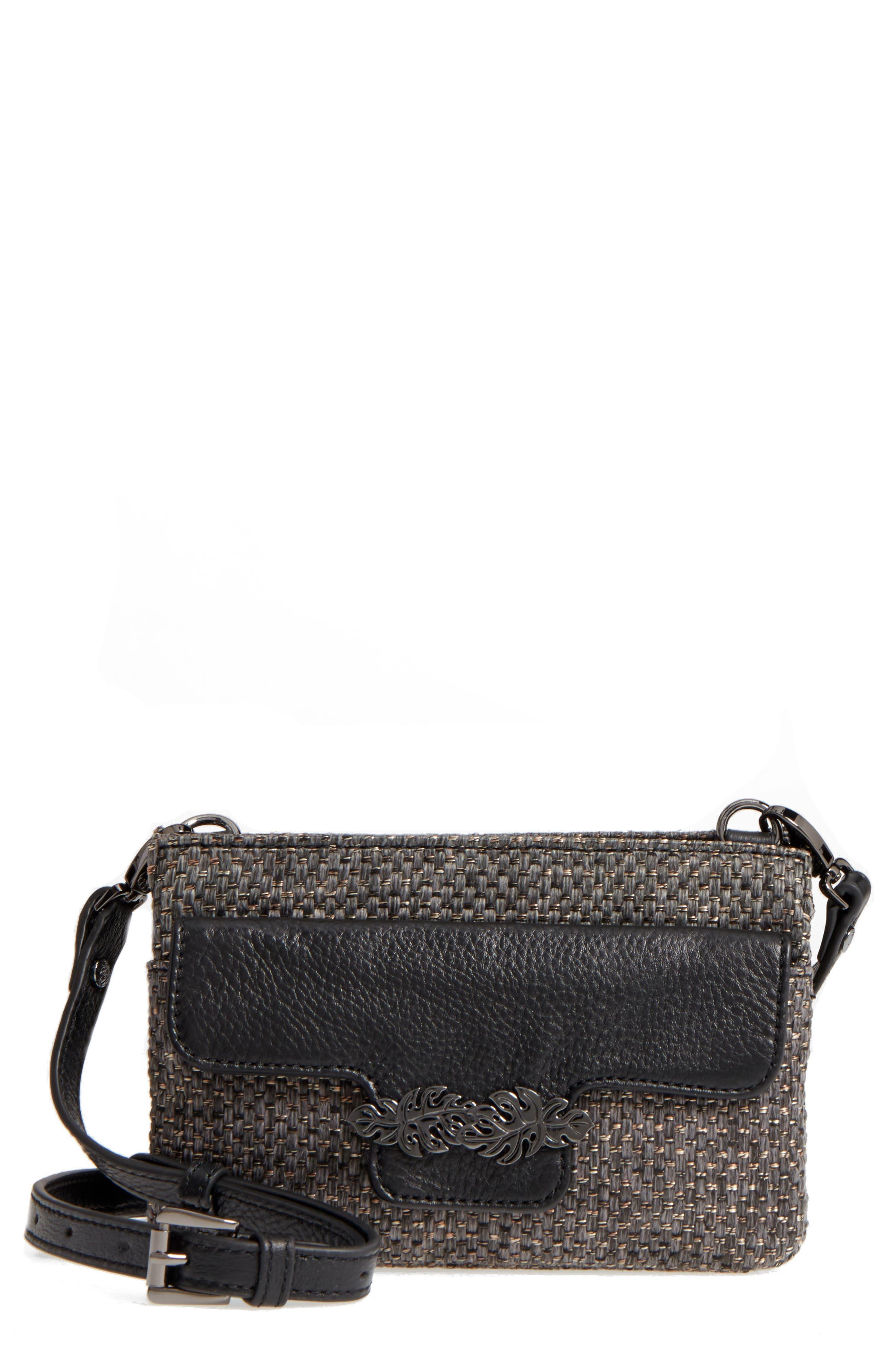 Katerini Leather Crossbody Wallet,                             Main thumbnail 4, color,
