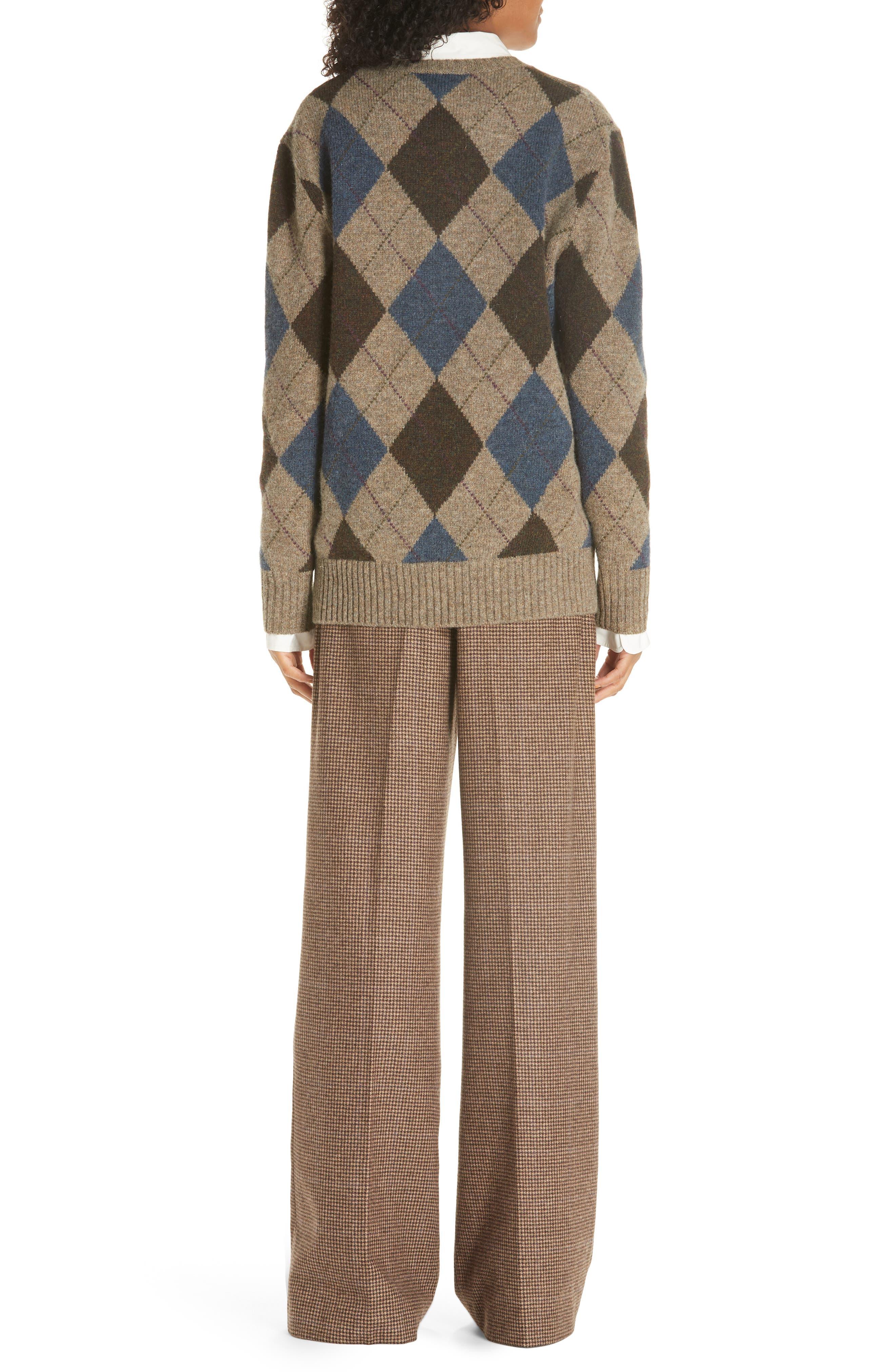 Argyle Sweater,                             Alternate thumbnail 2, color,                             020