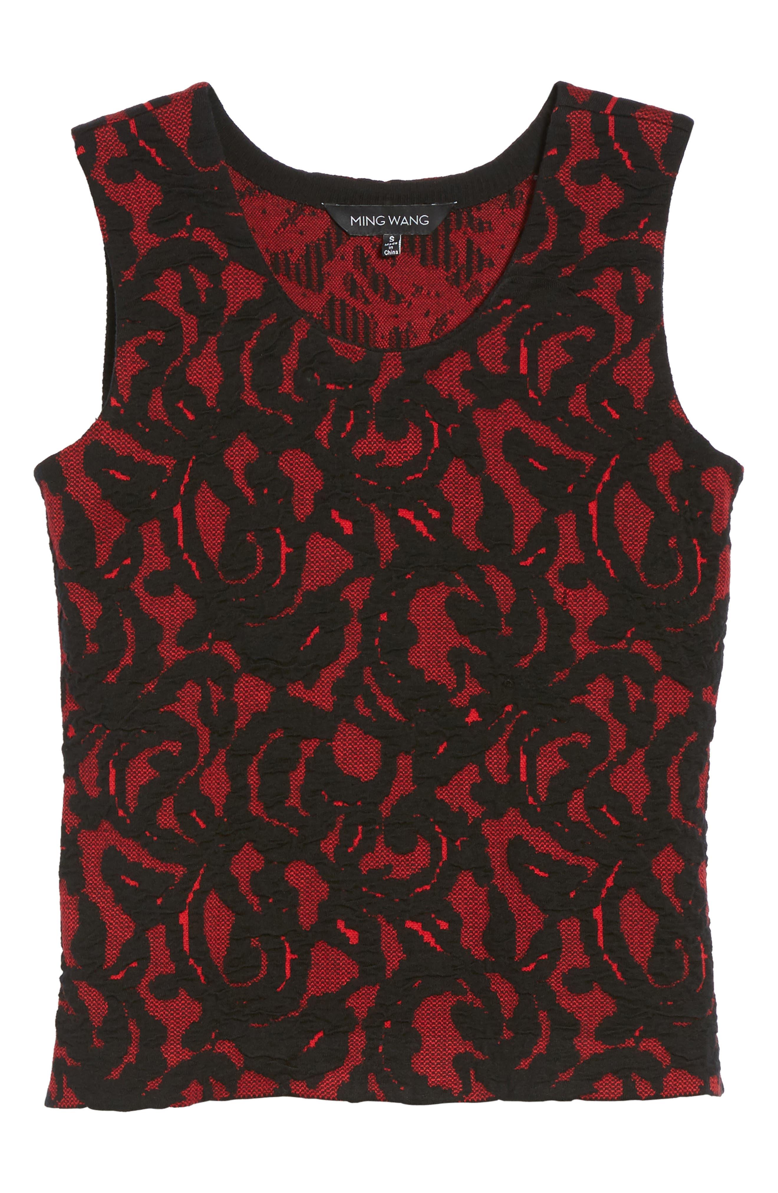 Lace Knit Tank,                             Alternate thumbnail 6, color,