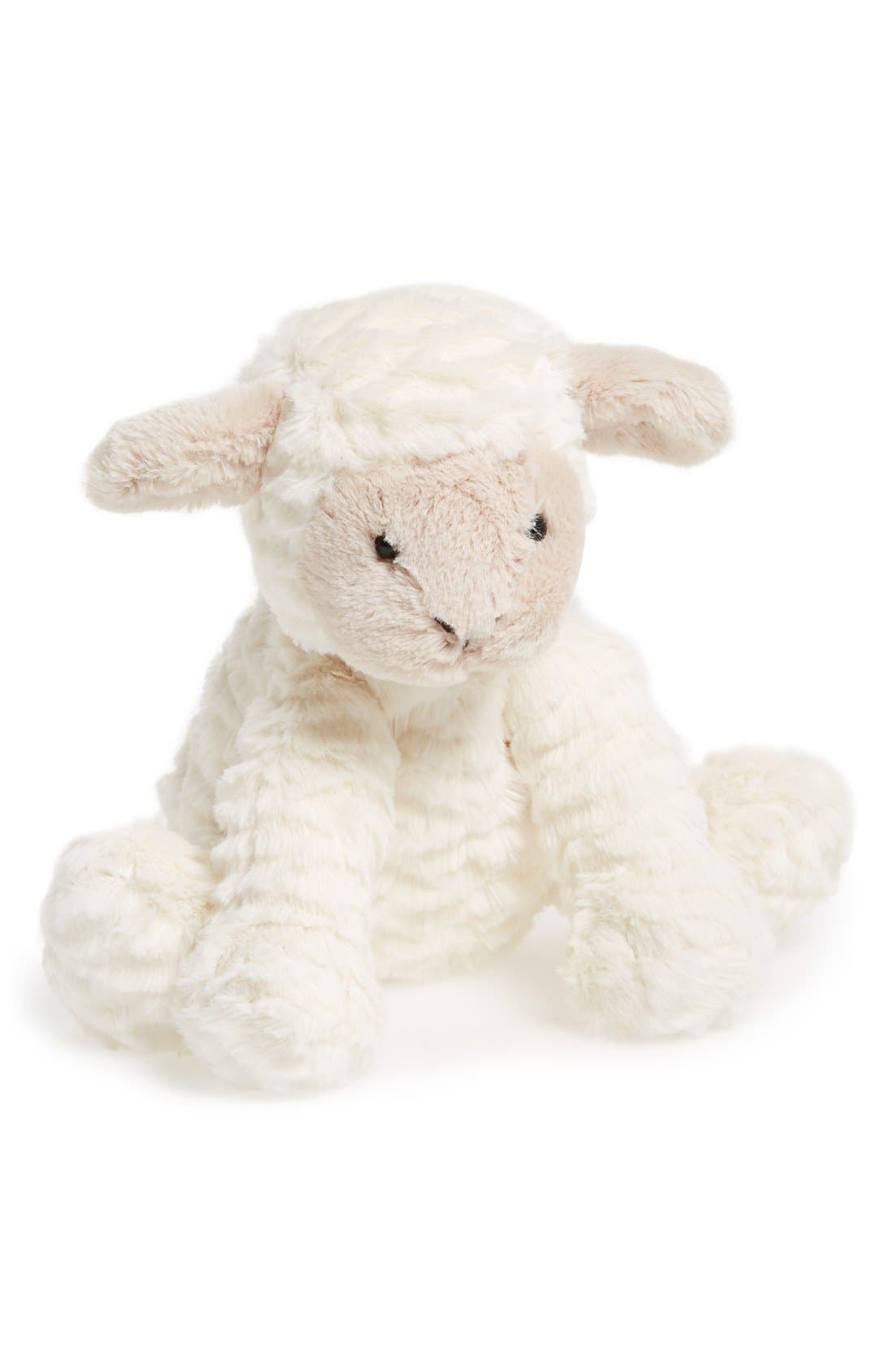'Fuddlewuddle Lamb' Stuffed Animal,                             Main thumbnail 1, color,                             CREAM