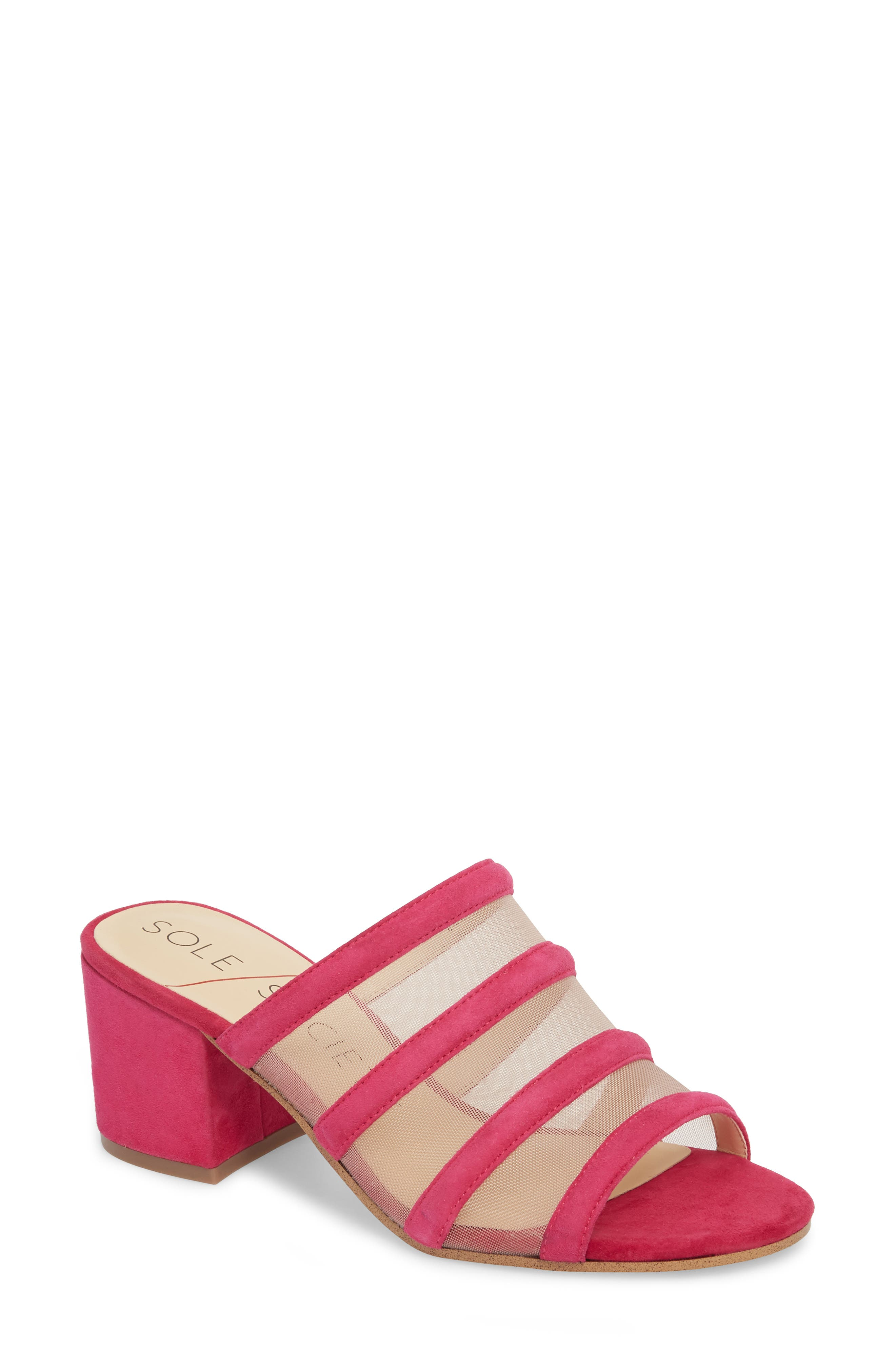 Sole Society Henna Sandal- Pink