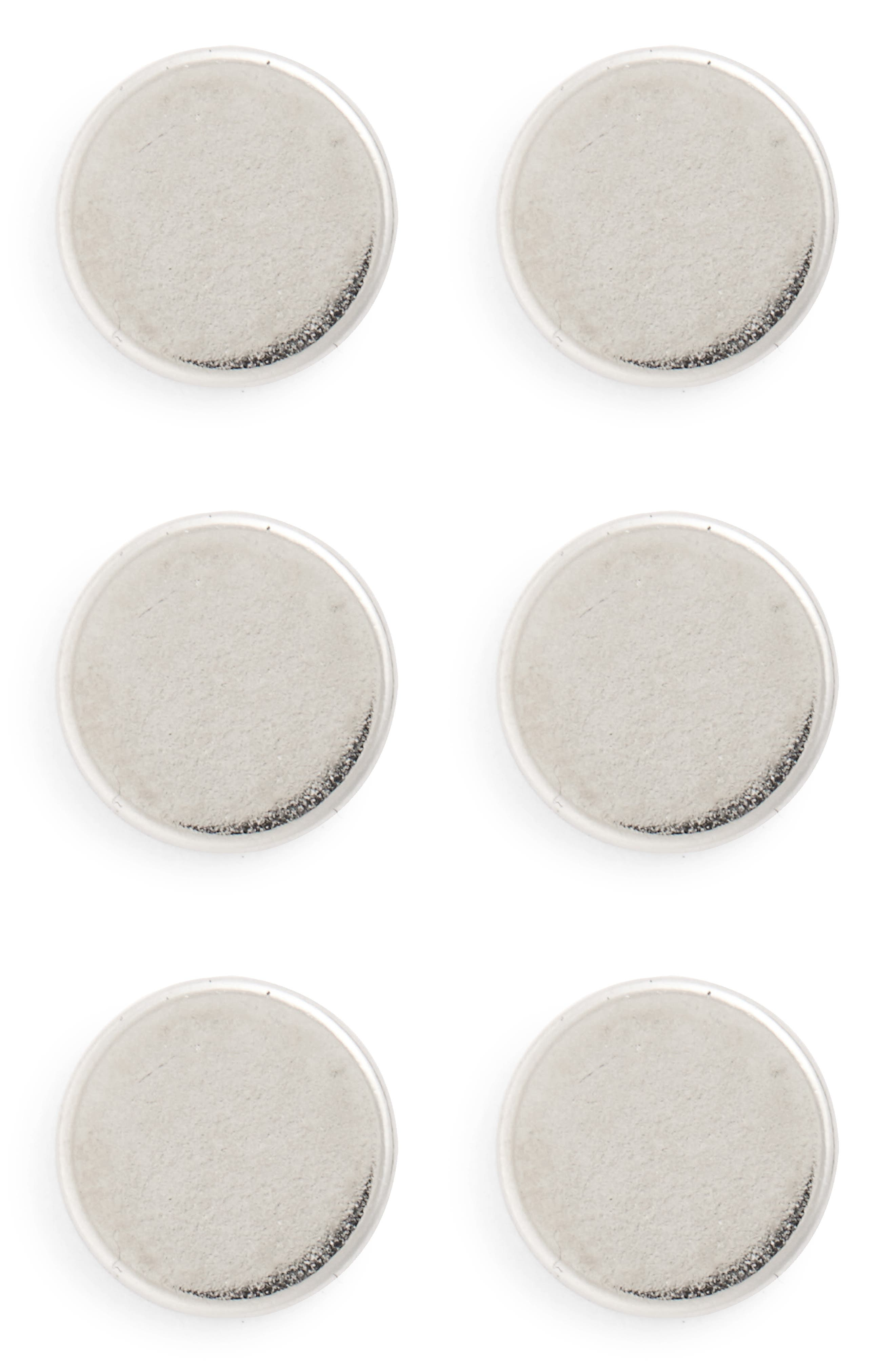 Replacement Power Buttons,                         Main,                         color, SILVER