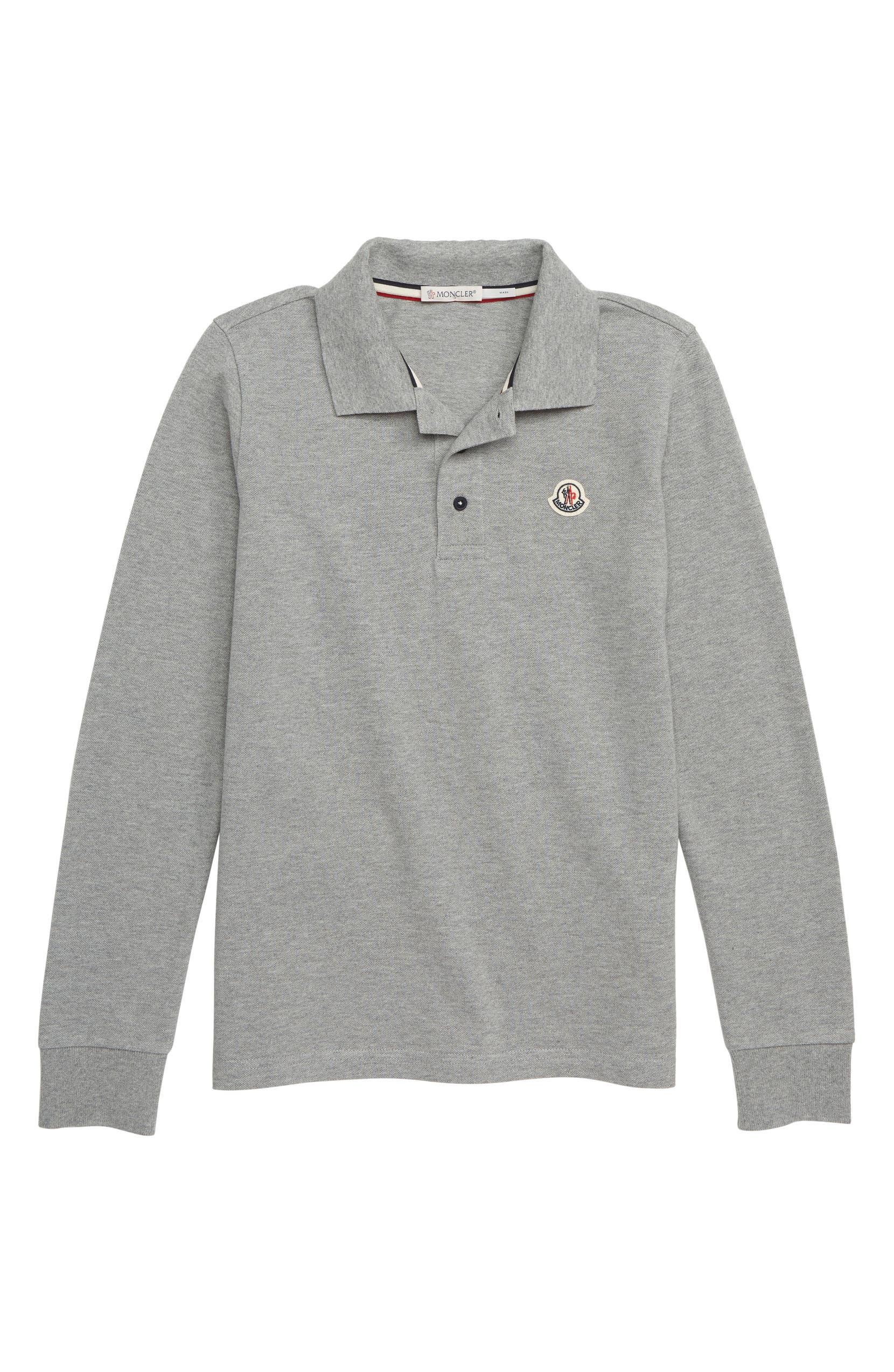 5544e1fc4e18 Moncler Logo Collar Polo (Little Boys   Big Boys)