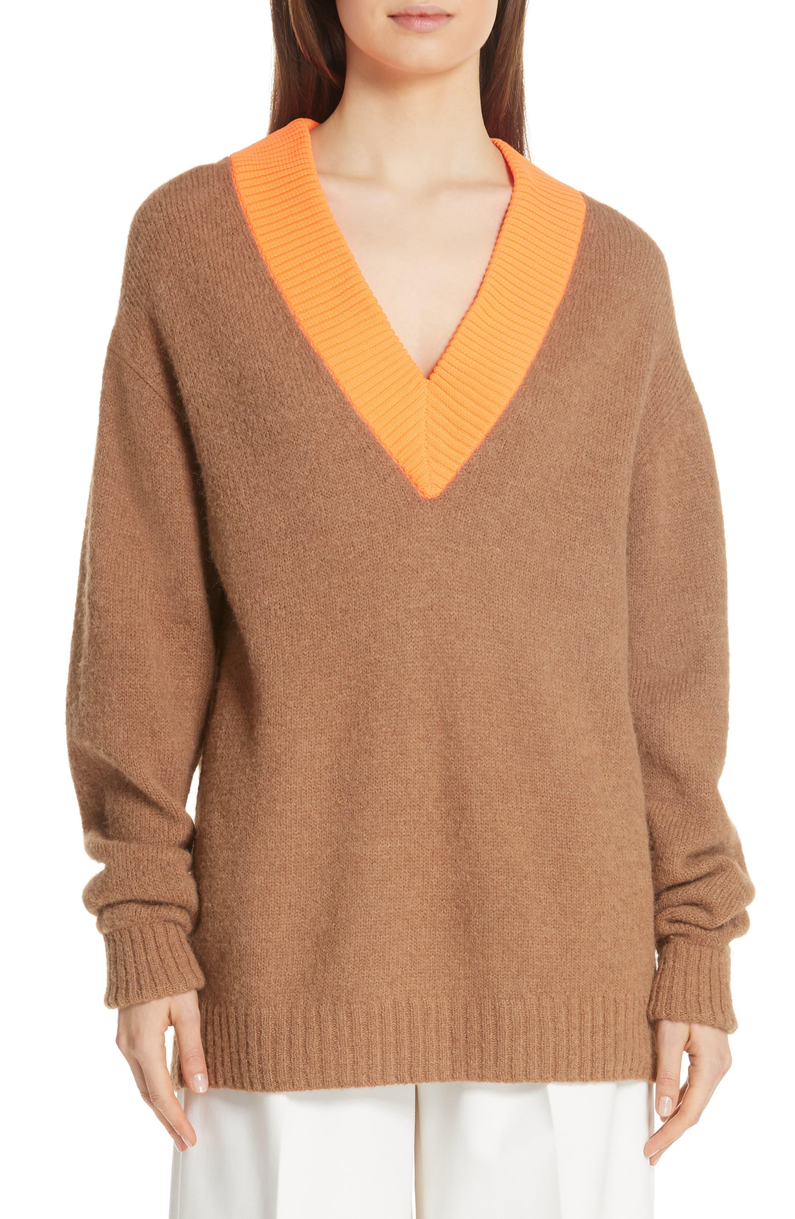 Airy Alpaca Blend Sweater, Main, color, 205