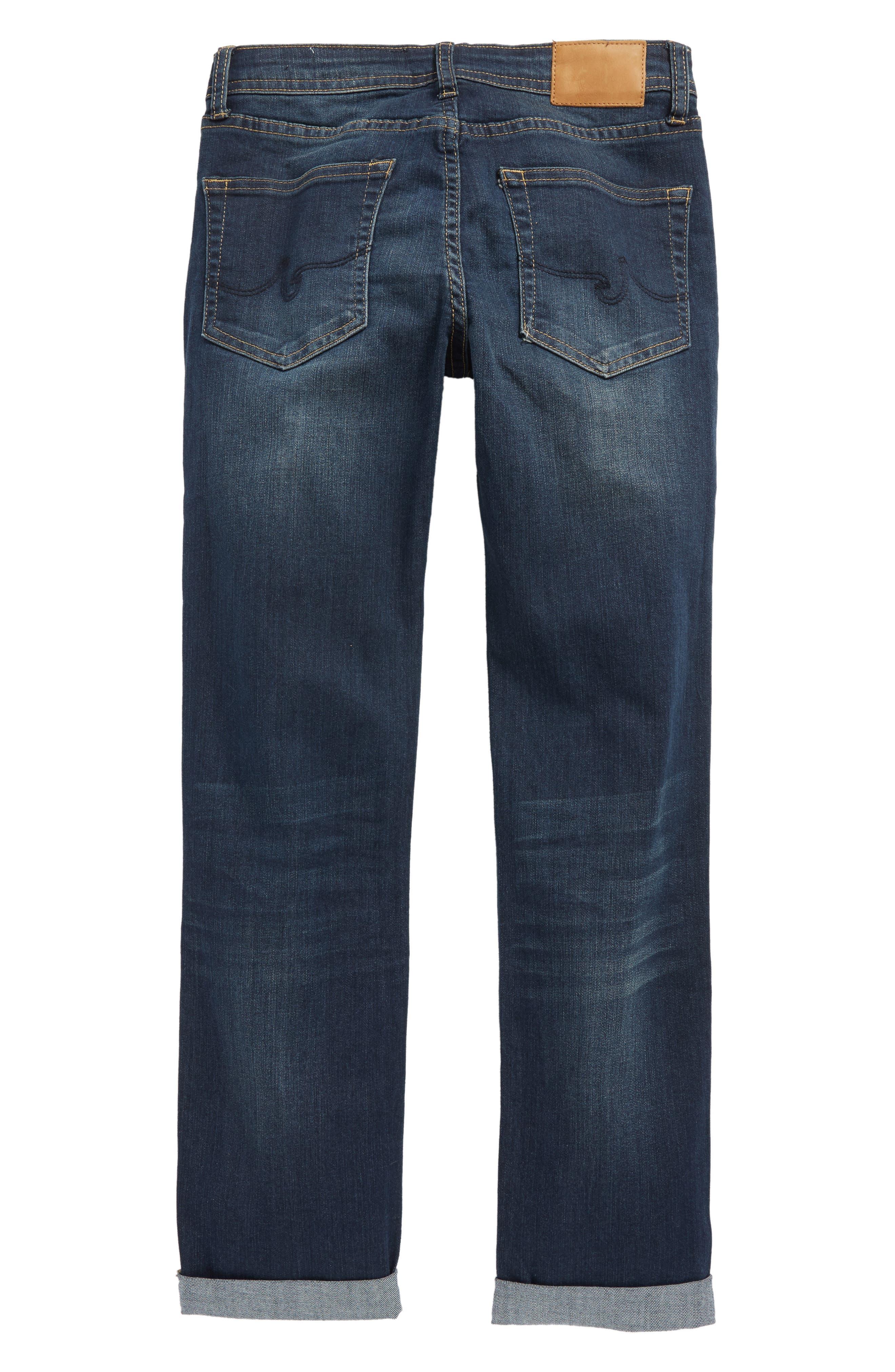AG The James Slim Straight Leg Jeans,                             Alternate thumbnail 2, color,