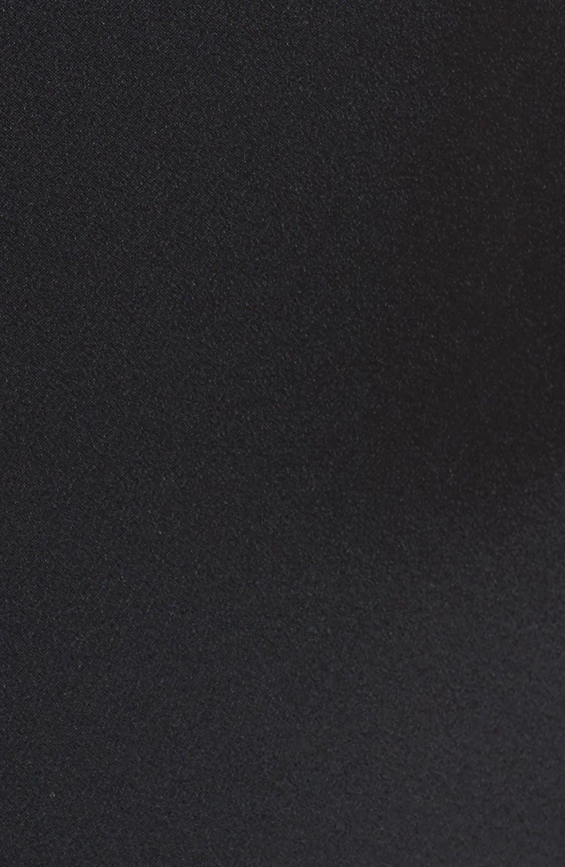 'Adler' Sleeveless Blazer Dress,                             Alternate thumbnail 4, color,                             001