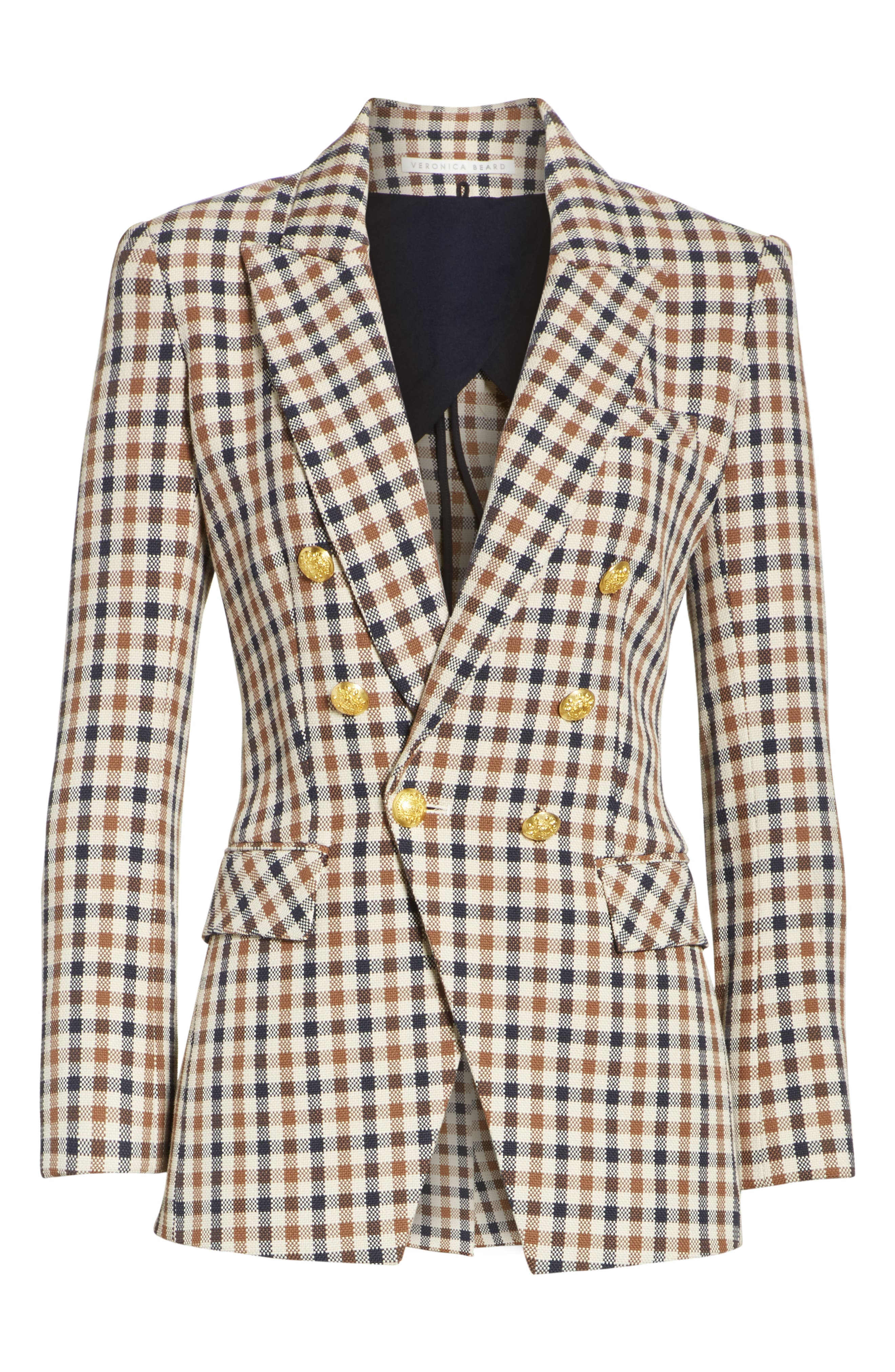 Lonny Houndstooth Dickey Jacket,                             Alternate thumbnail 5, color,                             241