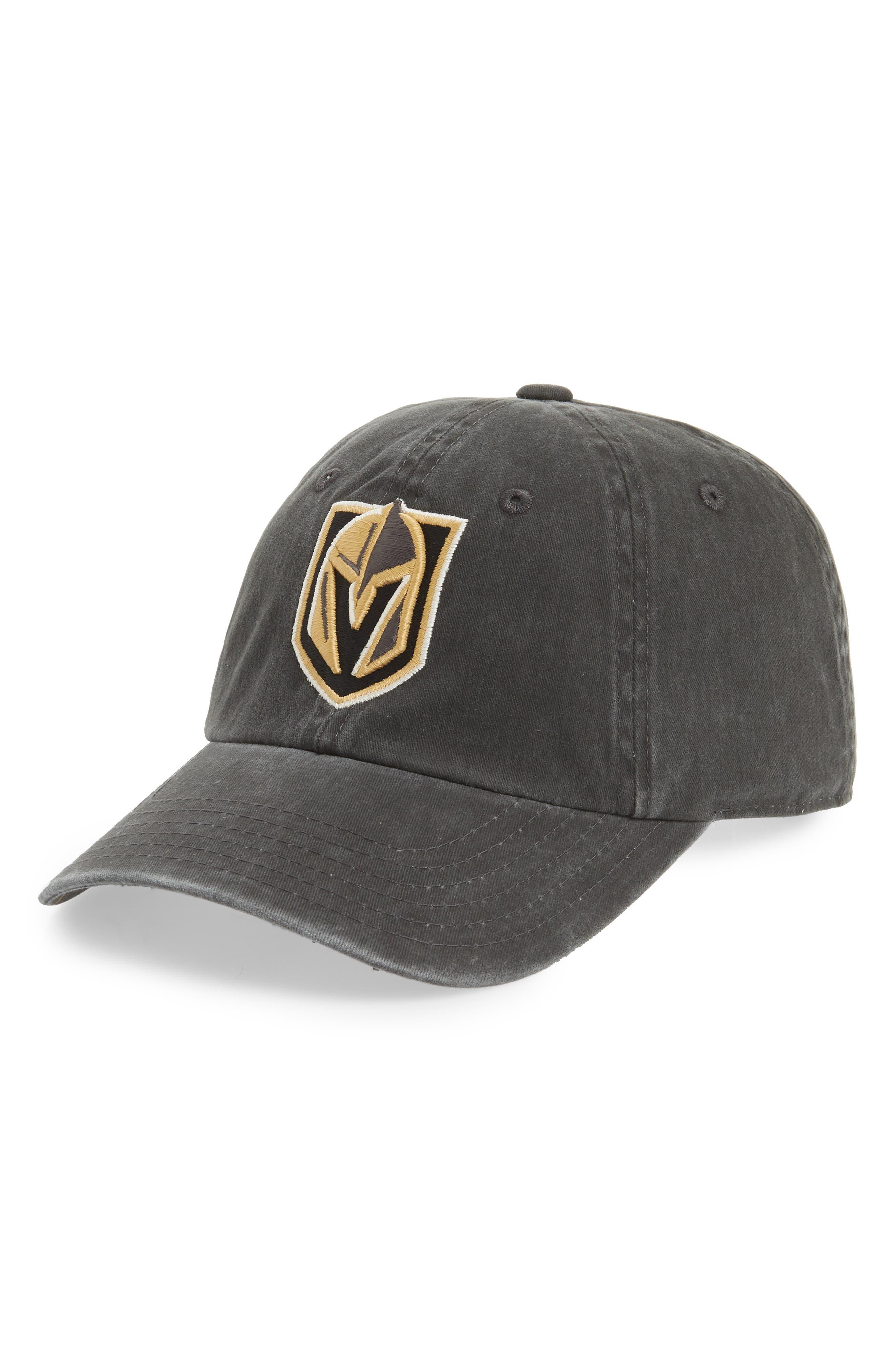 New Raglan Las Vegas Golden Knights Baseball Cap,                         Main,                         color, GOLDEN KNIGHTS