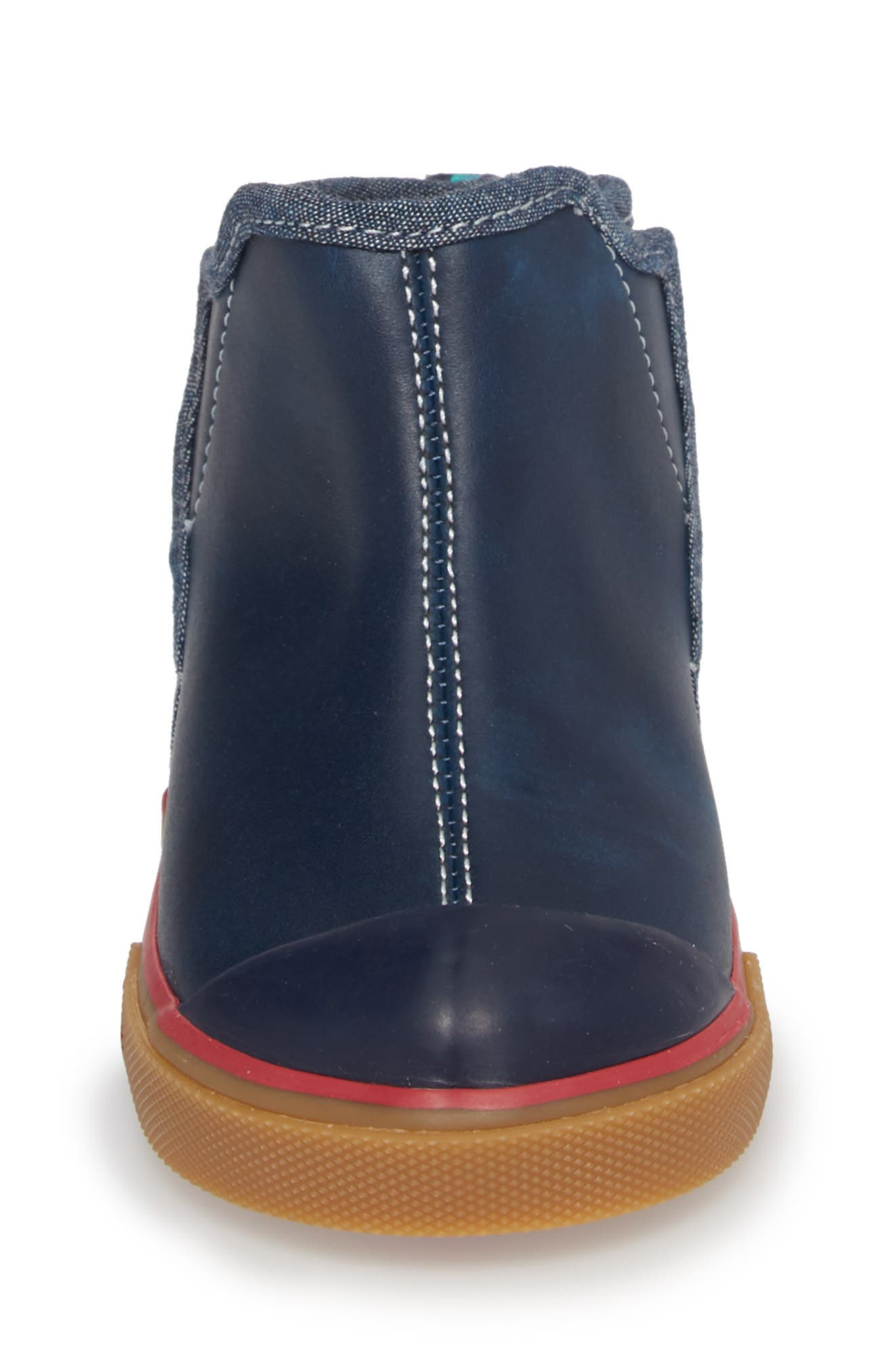 Mia Boot,                             Alternate thumbnail 4, color,                             NAVY LEATHER