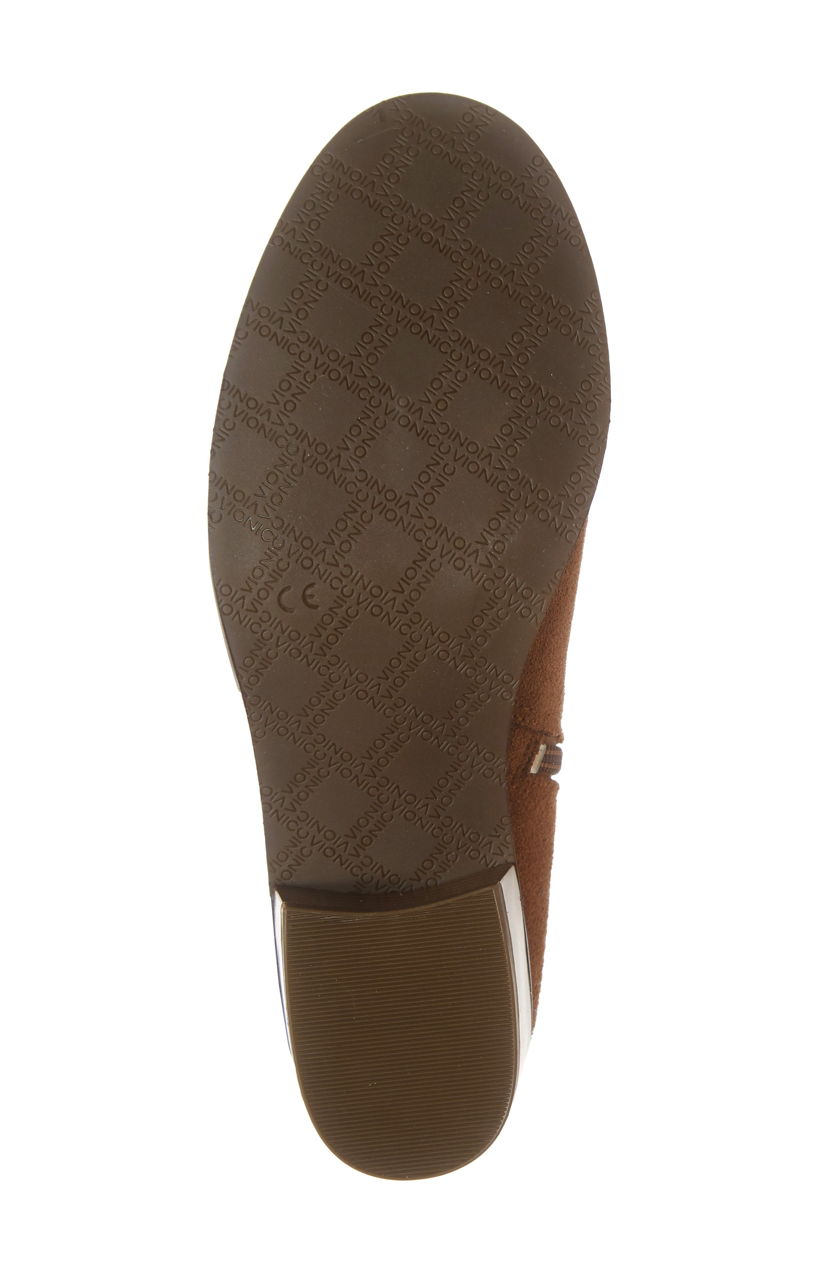 Kanela Low Slouchy Bootie,                             Alternate thumbnail 6, color,                             TOFFEE SUEDE