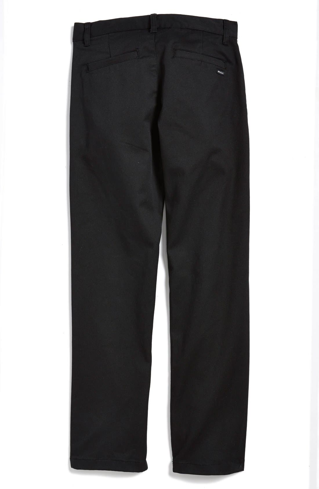'Weekday' Stretch Chinos,                             Alternate thumbnail 16, color,