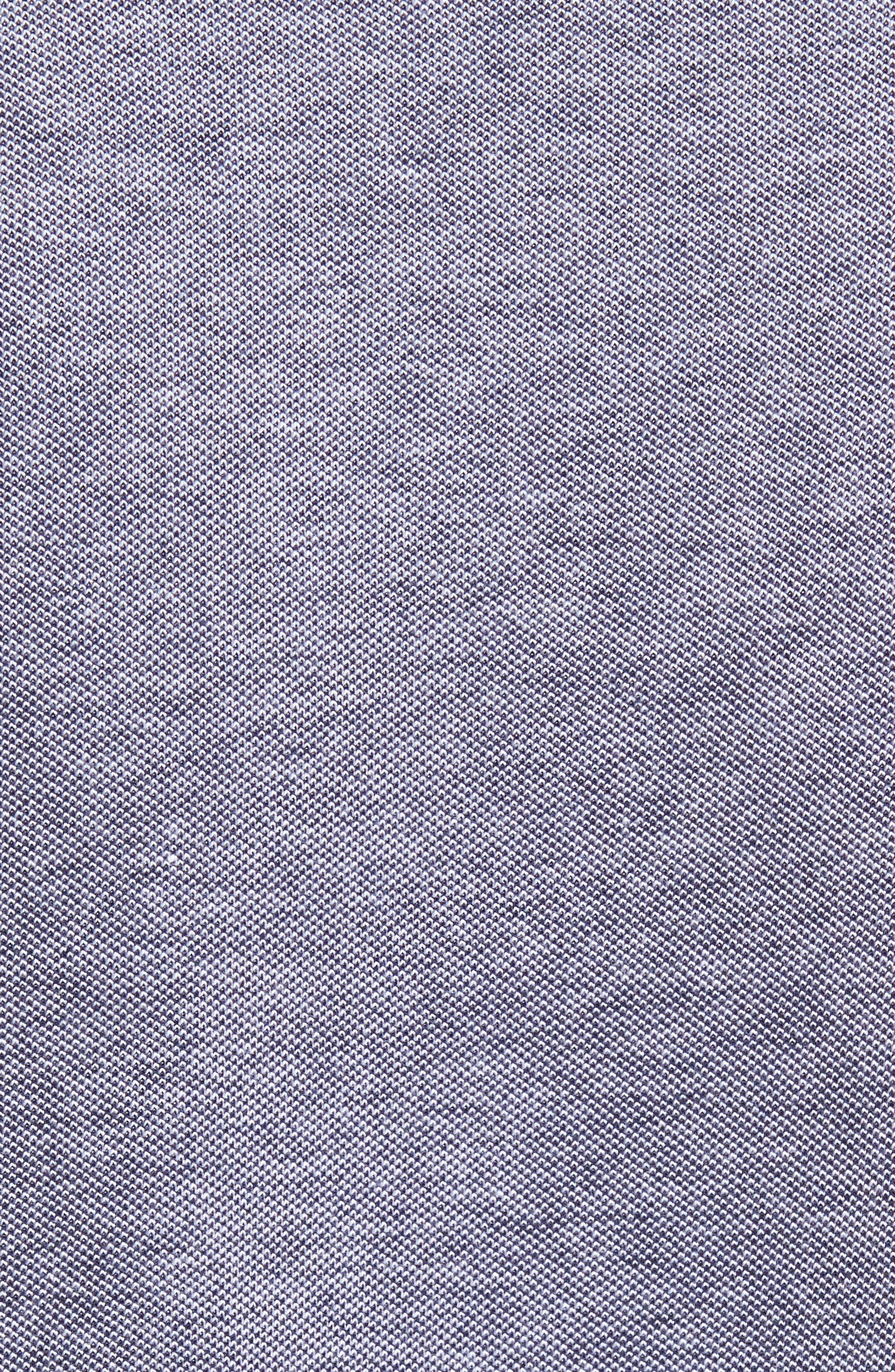 Regular Fit Oxford Piqué Sport Shirt,                             Alternate thumbnail 5, color,