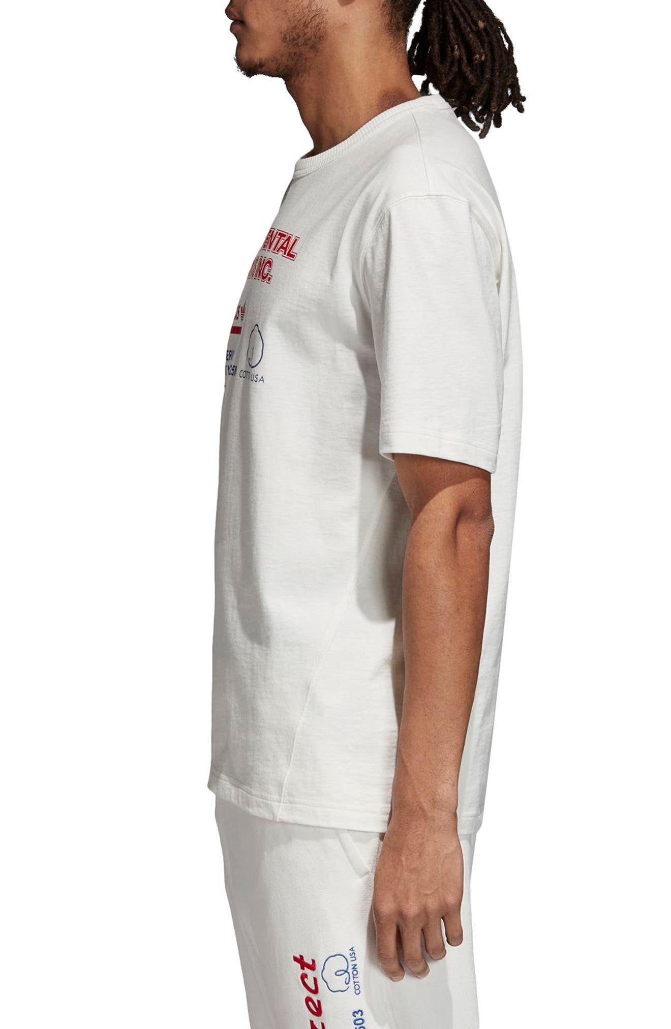 Kaval T-Shirt,                             Alternate thumbnail 3, color,                             CLOUD WHITE