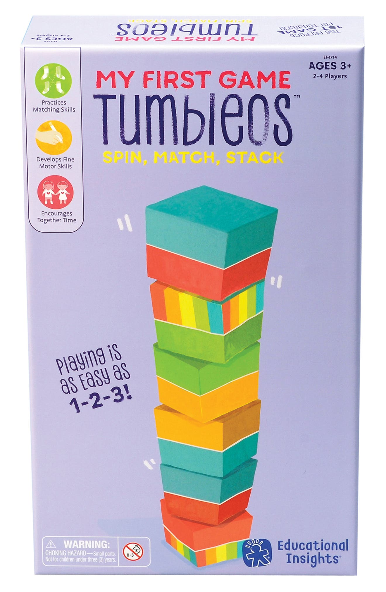 My First Game Tumbleos<sup>™</sup>,                             Alternate thumbnail 2, color,                             960