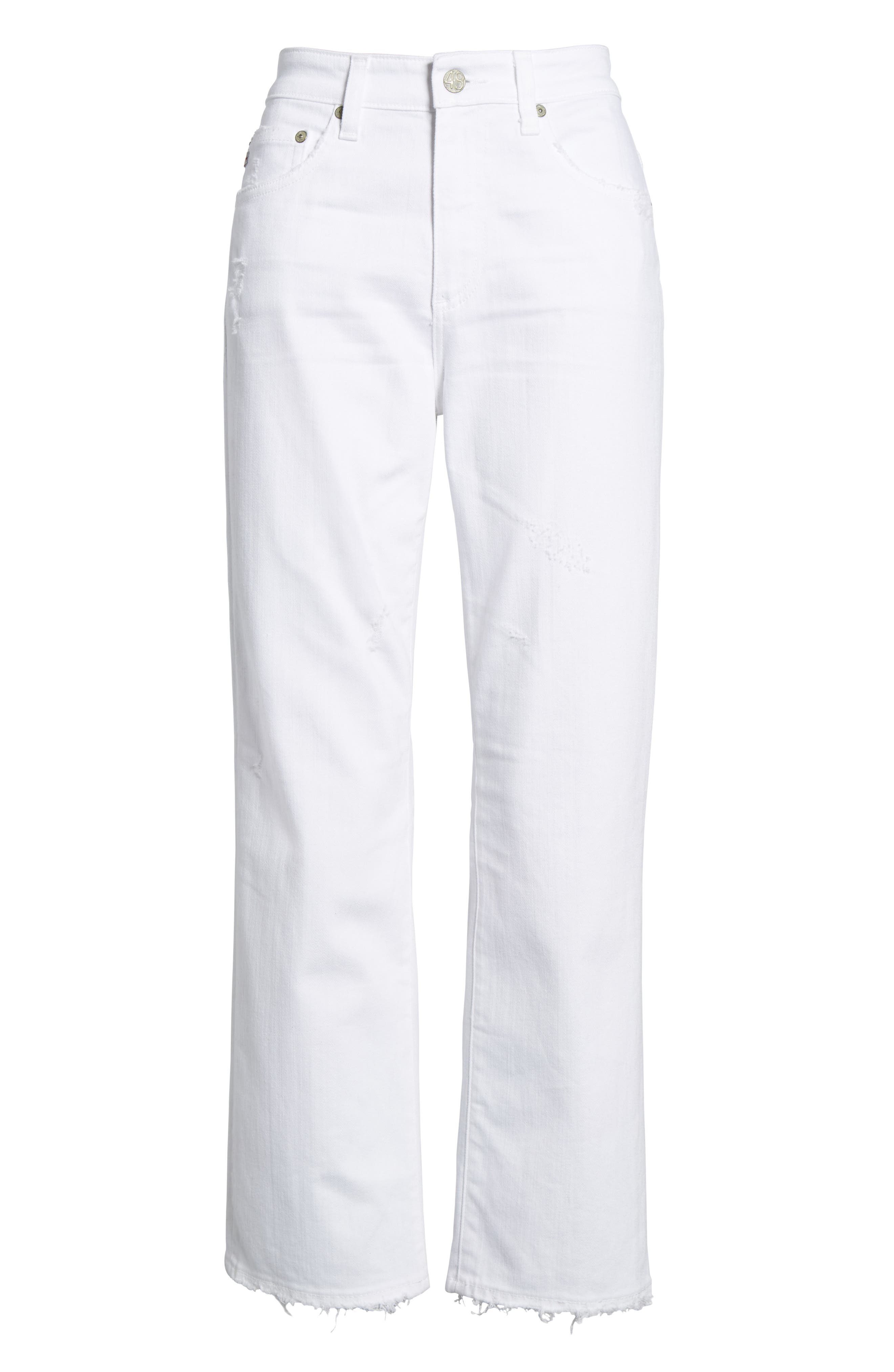 The Rhett High Waist Crop Jeans,                             Alternate thumbnail 6, color,                             160