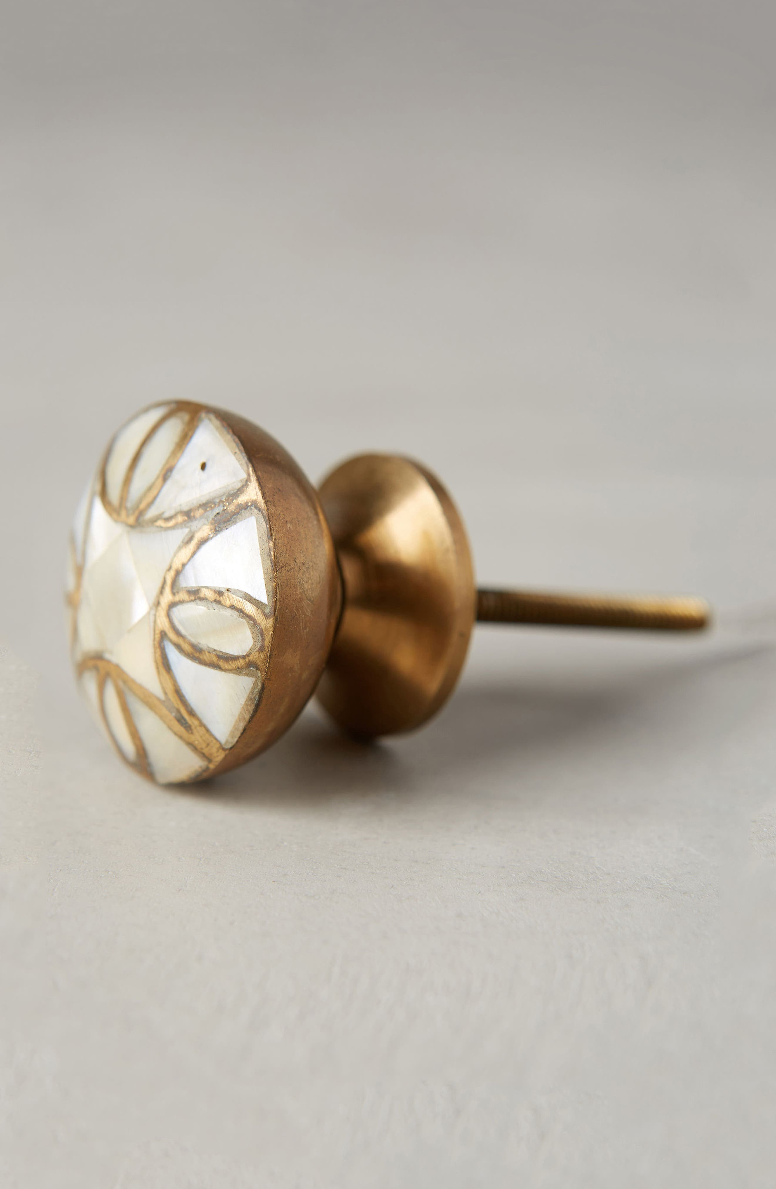 Mother-of-Pearl Knob,                             Alternate thumbnail 2, color,                             100