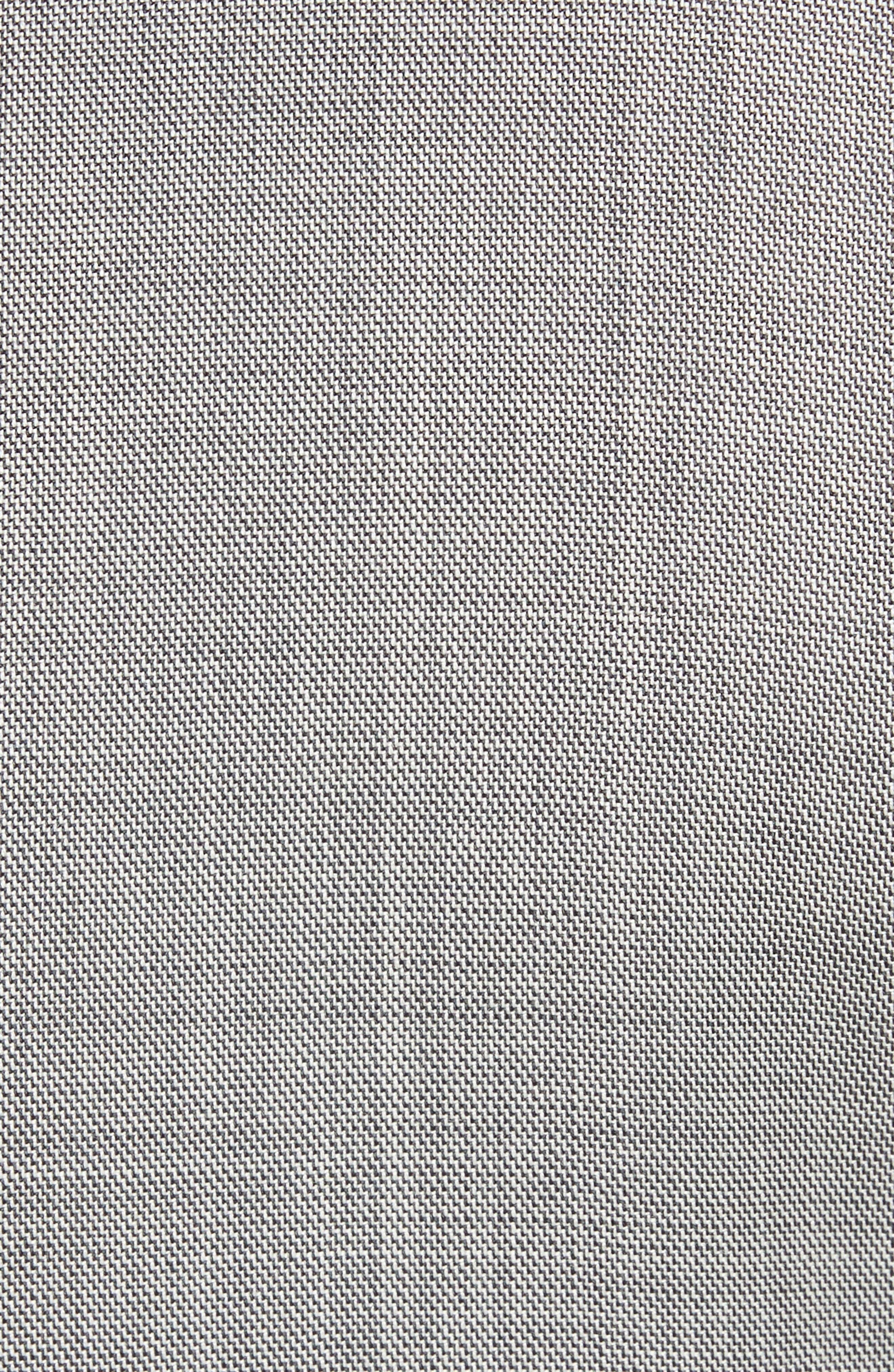 Jay Trim Fit Solid Wool Suit,                             Alternate thumbnail 7, color,                             LIGHT GREY