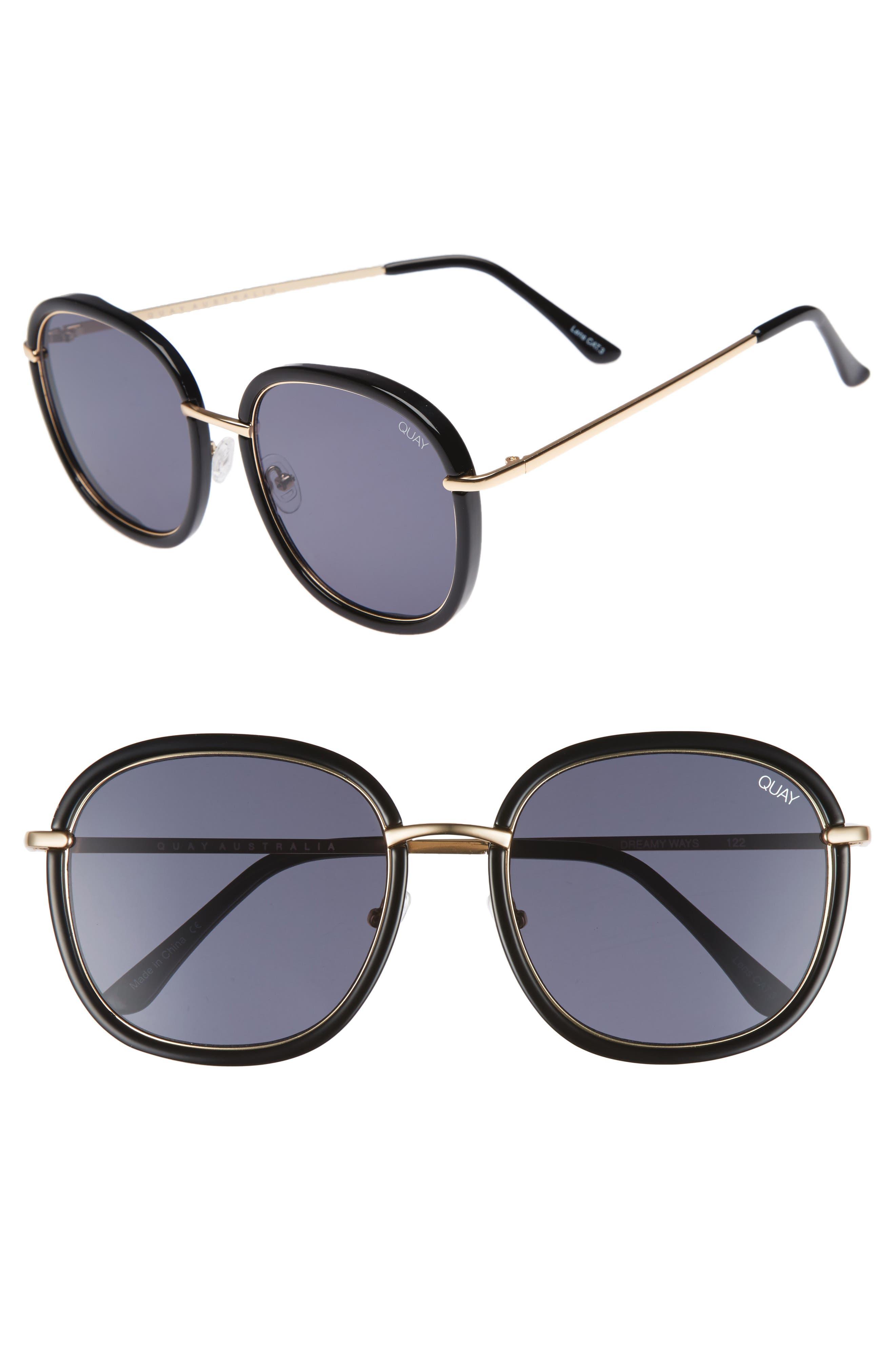 Dreamy Ways 57mm Rectangular Sunglasses,                             Main thumbnail 1, color,