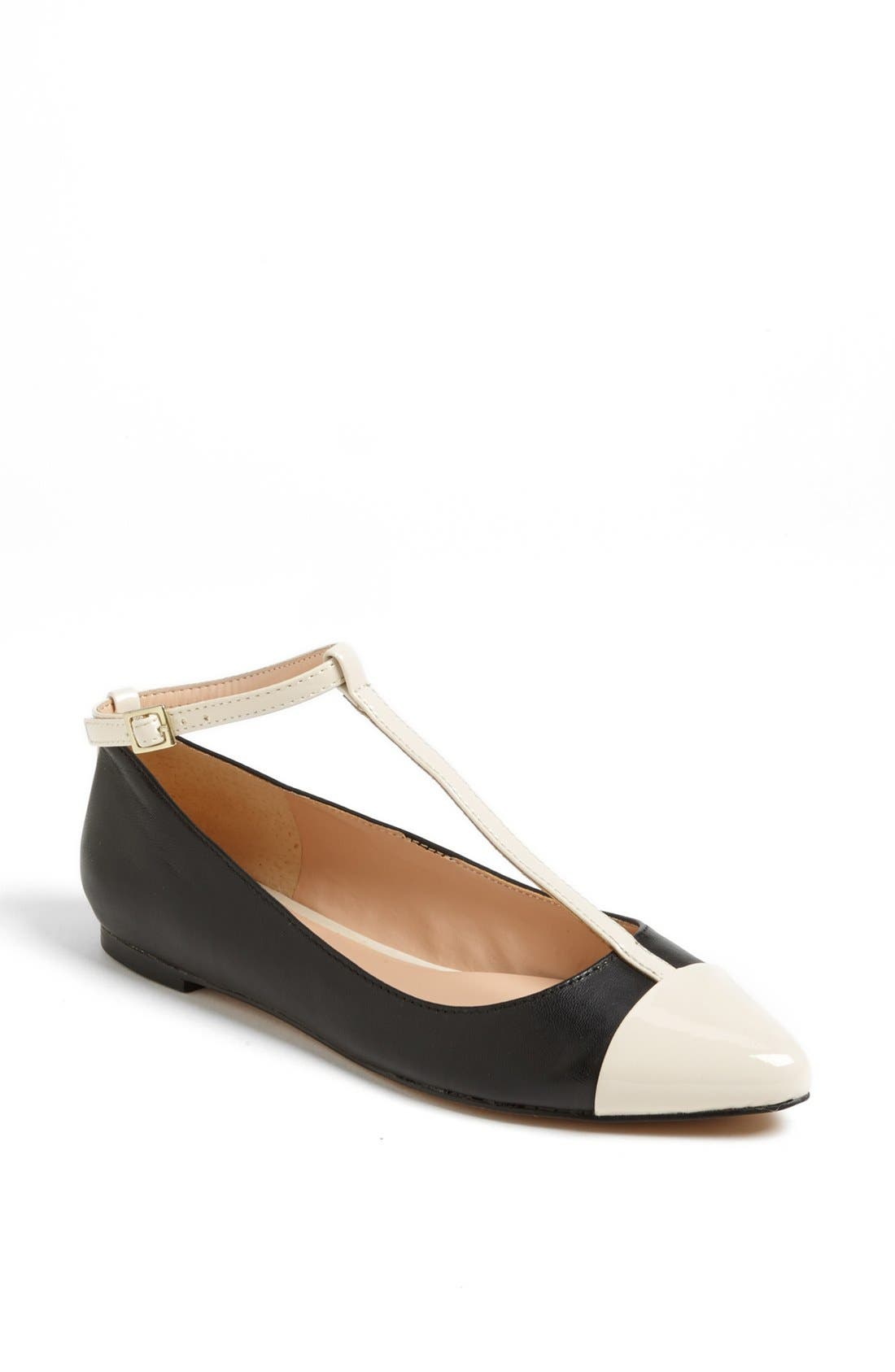 Julianne Hough for Sole Society 'Addy' Flat,                             Main thumbnail 1, color,                             001