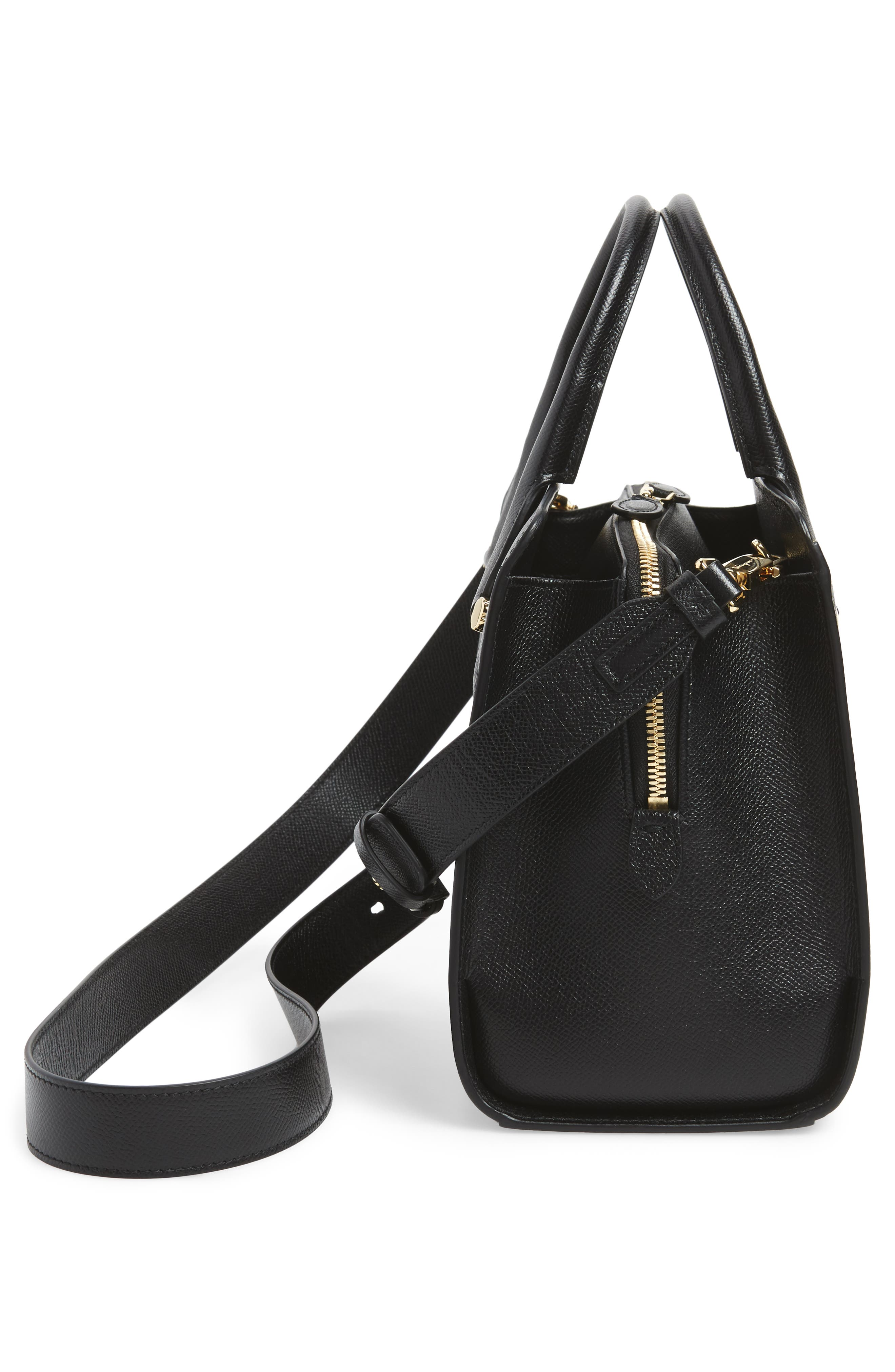 Small Today Satchel,                             Alternate thumbnail 5, color,                             NERO